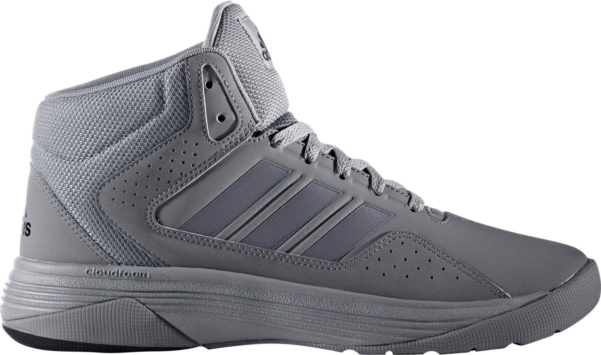 a9591cac0b7e Lyst - adidas Neo Cloudfoam Ilation Mid Basketball Shoes in Gray for Men