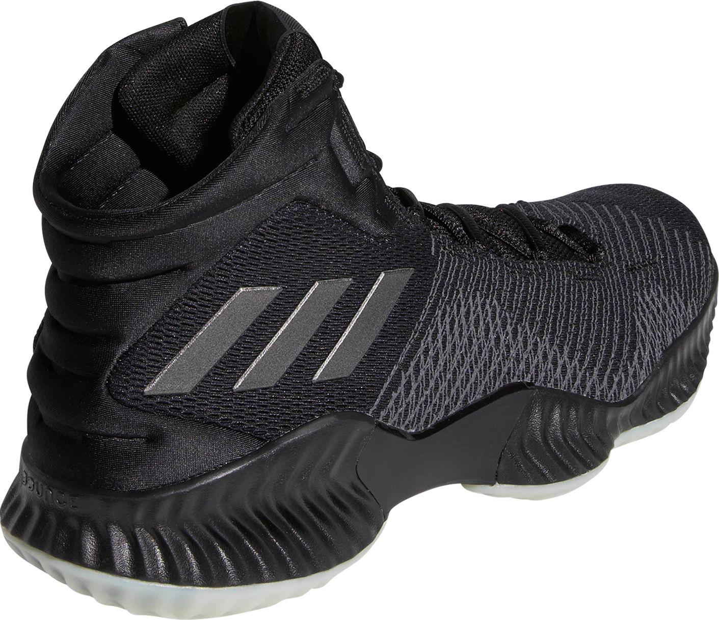 4d521587a8f adidas Pro Bounce 2018 Basketball Shoes in Black for Men - Lyst