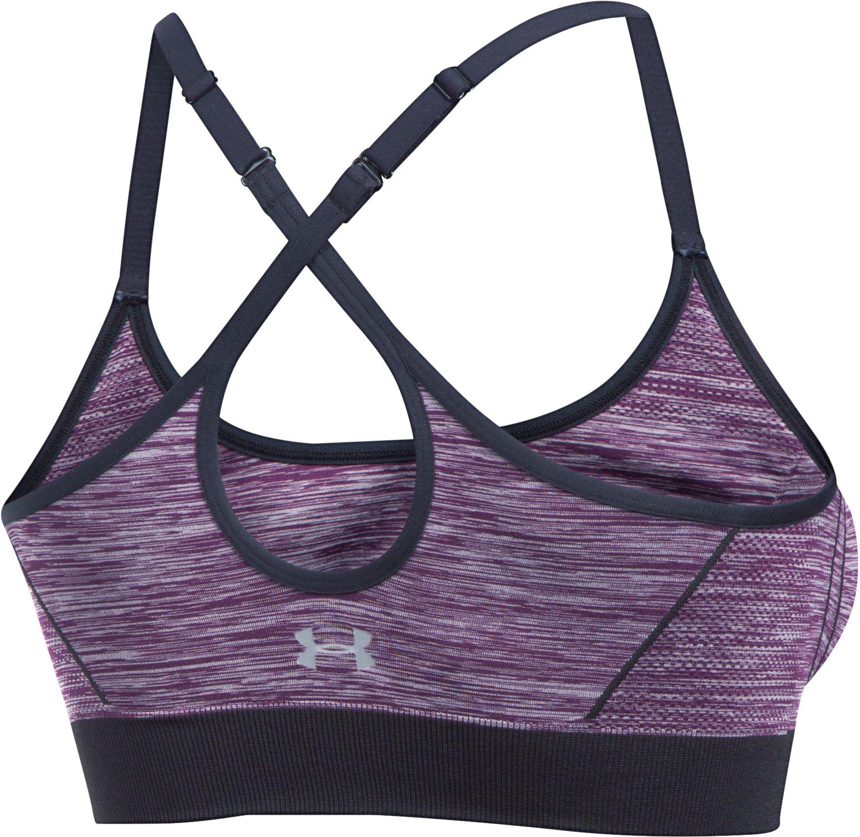6da2938611b16 Lyst - Under Armour Threadborne Seamless Low Pop Sports Bra