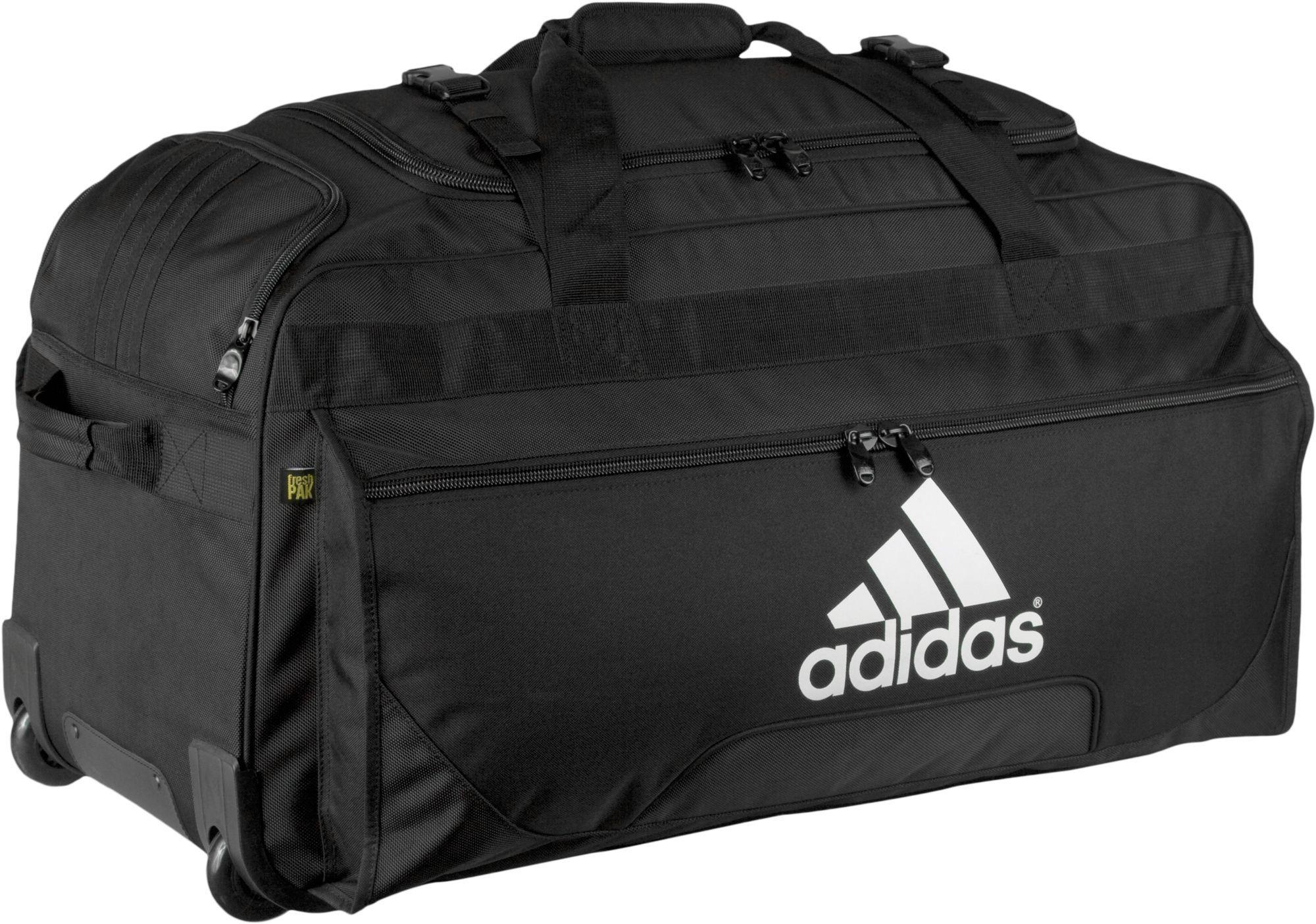 2fbad03fbcf0 Lyst - adidas Team Wheeled Bag in Black for Men