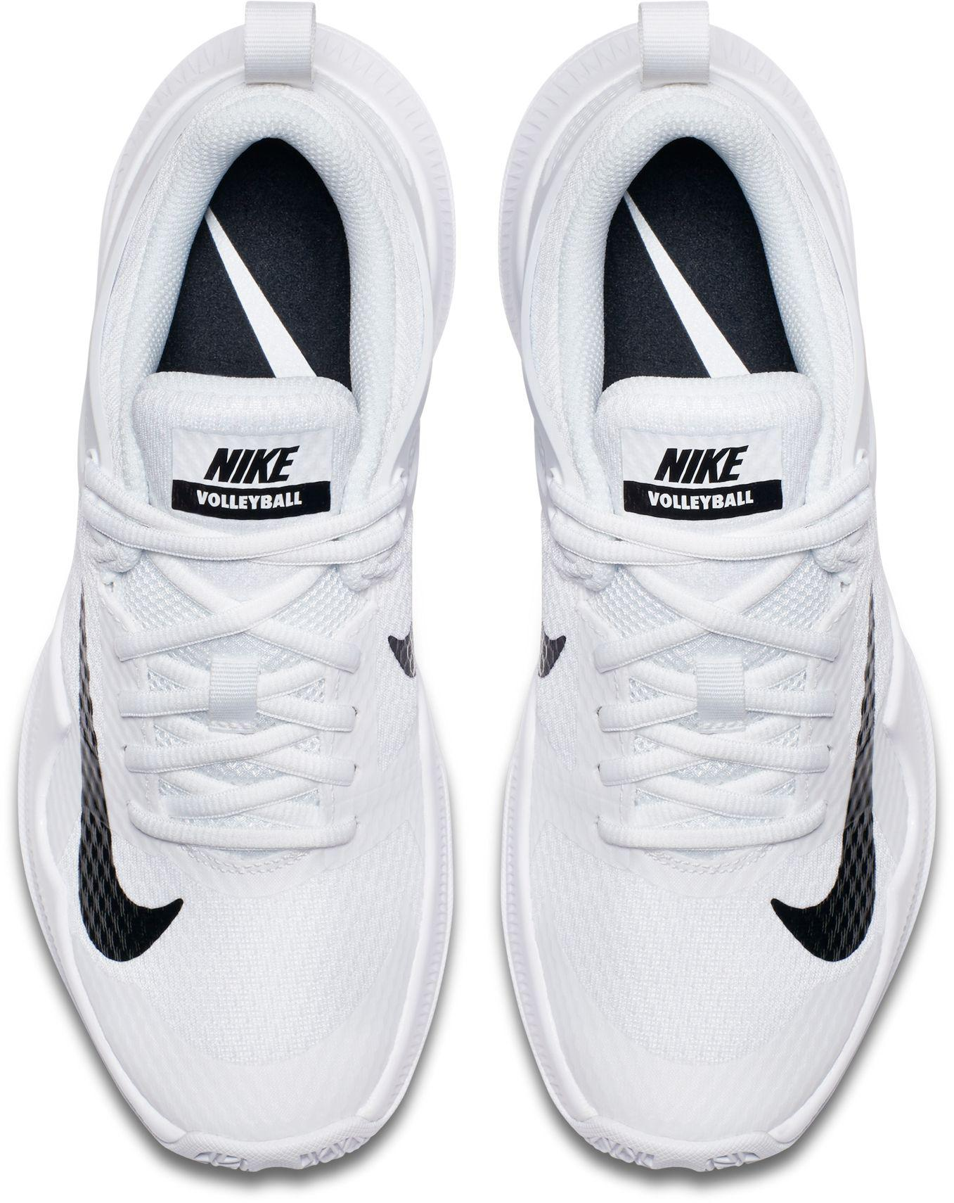 sports shoes 3795c 19eae Nike - White Air Zoom Hyperace Volleyball Shoes - Lyst