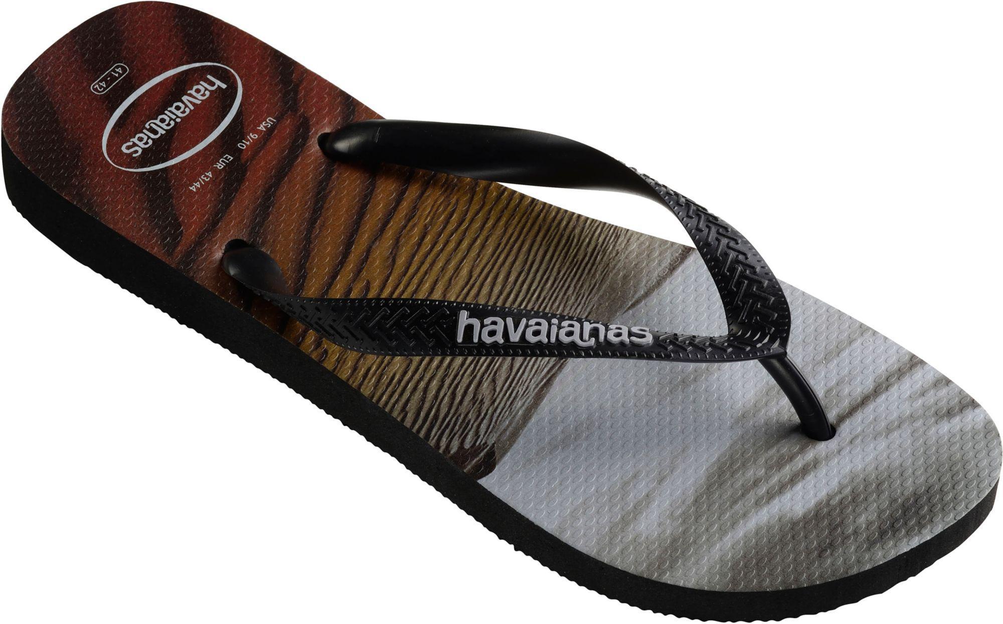 77739e289ff348 Lyst - Havaianas Hype Flip Flops in Black for Men