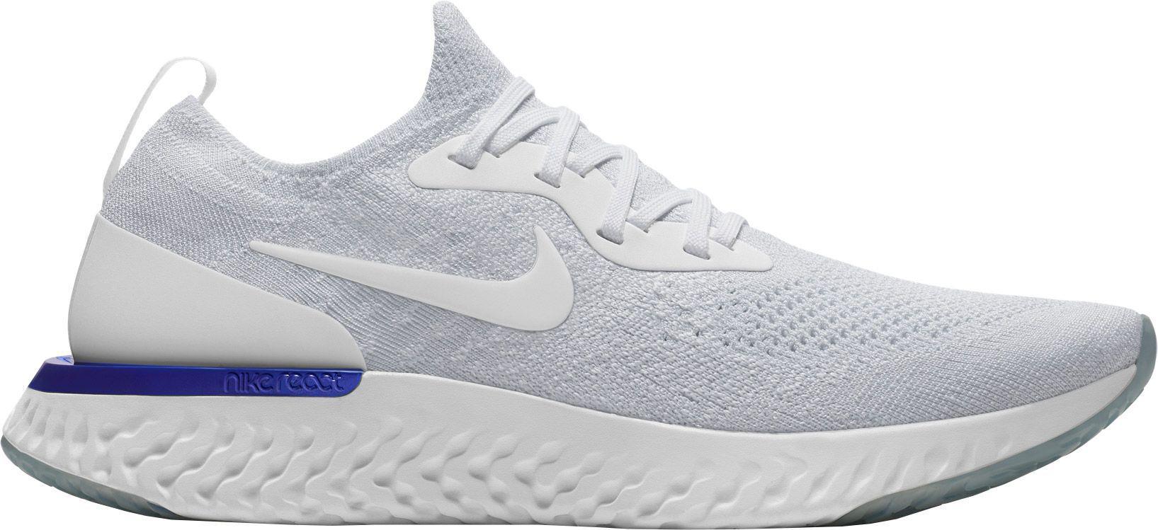 8f827e4990e7 Lyst - Nike Epic React Flyknit Running Shoes in White for Men