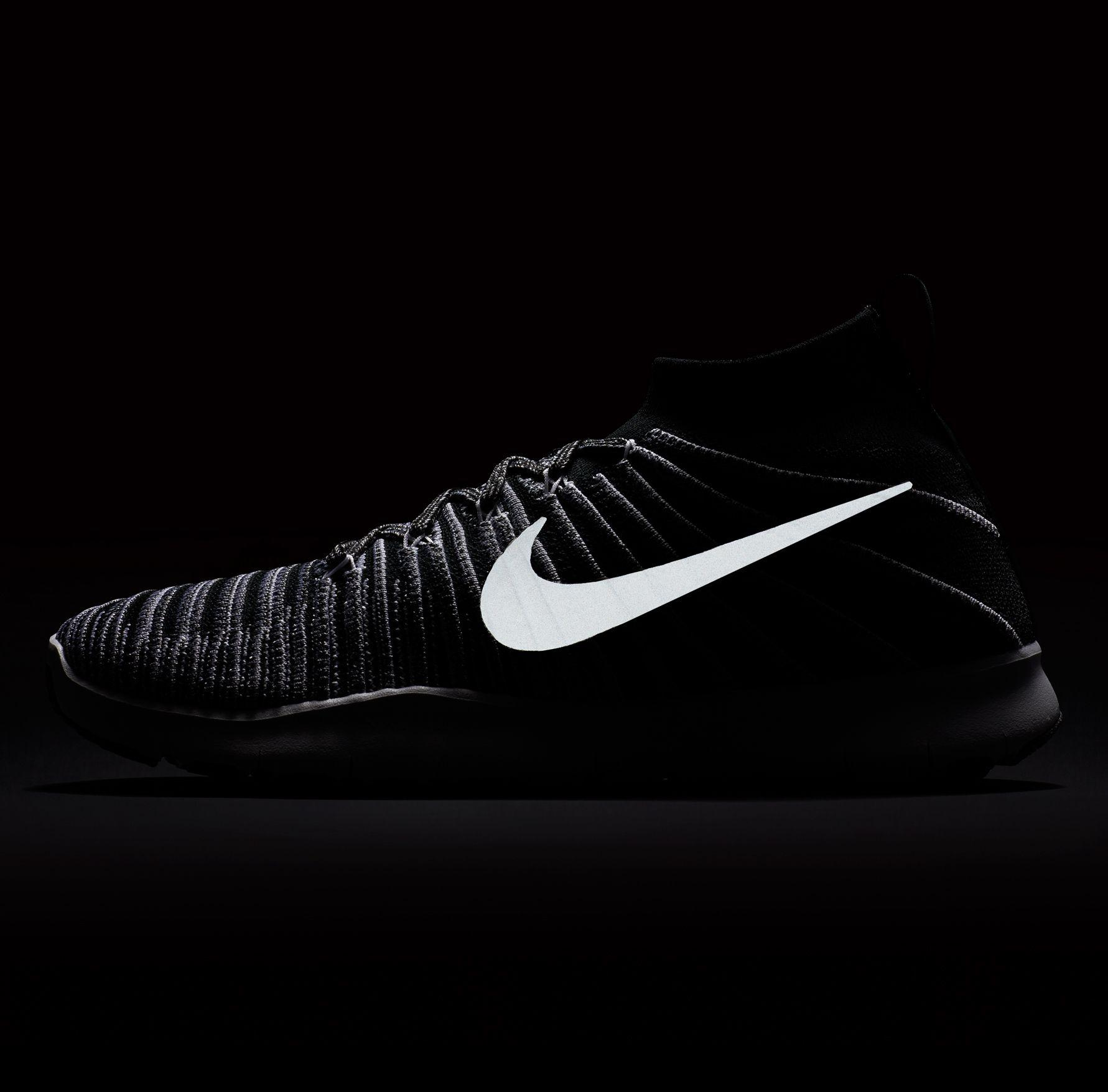89f18b632849a Lyst - Nike Free Train Force Flyknit Training Shoes in Black for Men