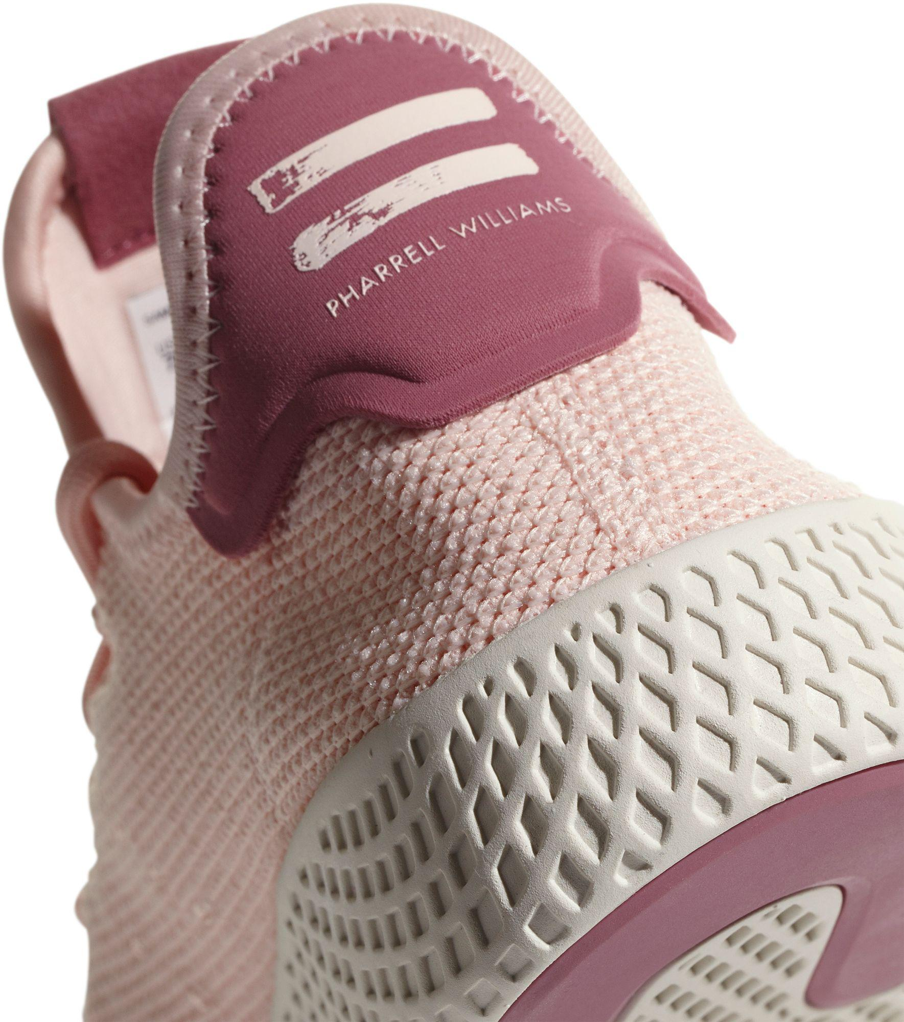 1647e8f051c3c Lyst - adidas Originals Pharrell Williams Tennis Hu Shoes in Pink
