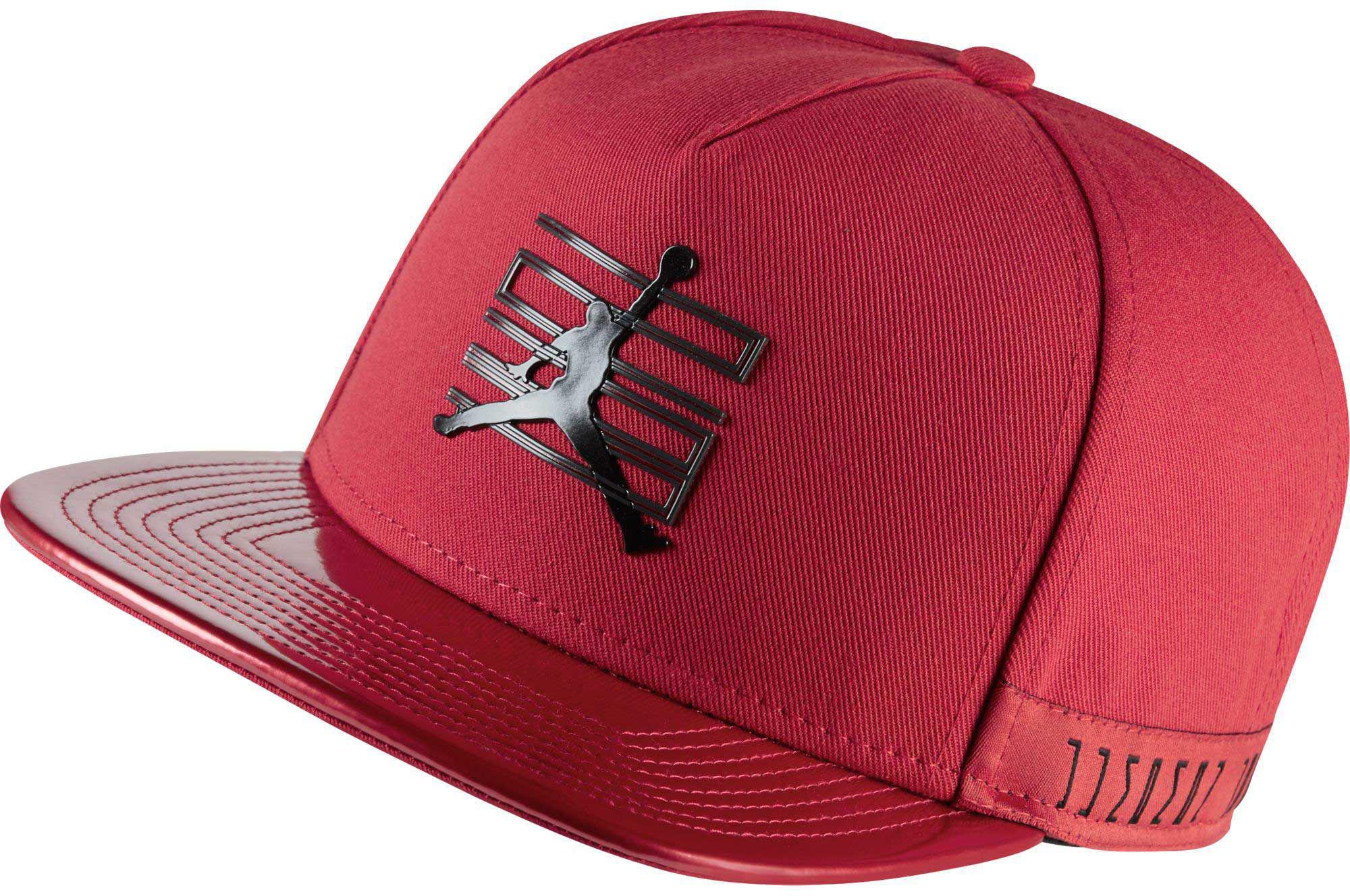 49a40305a9d Lyst - Nike Jordan 11 Snapback Hat in Red for Men