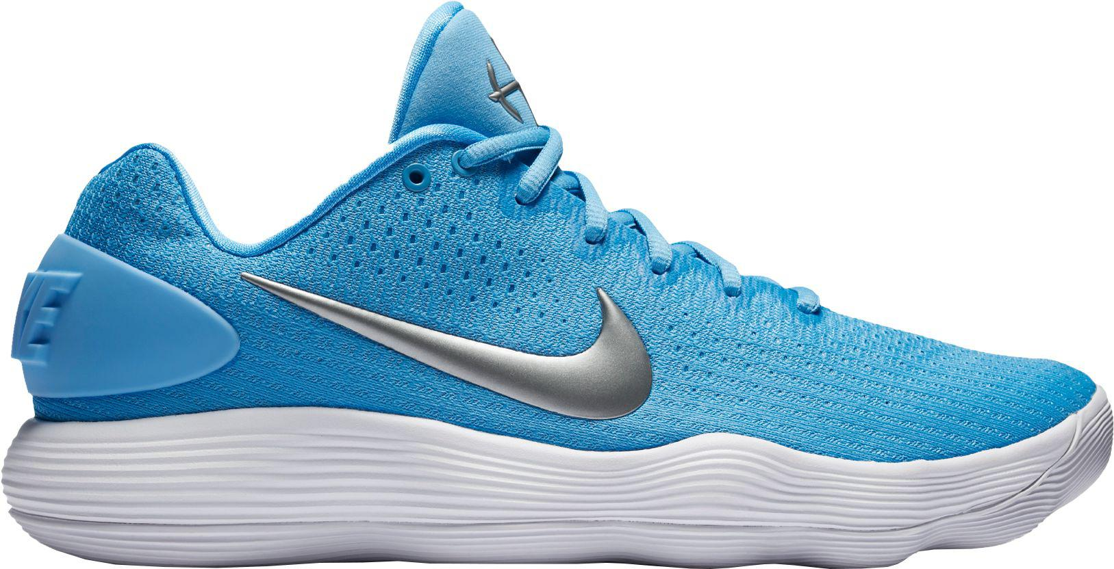 defcb80094e Lyst - Nike React Hyperdunk 2017 Low Basketball Shoes in Blue for Men