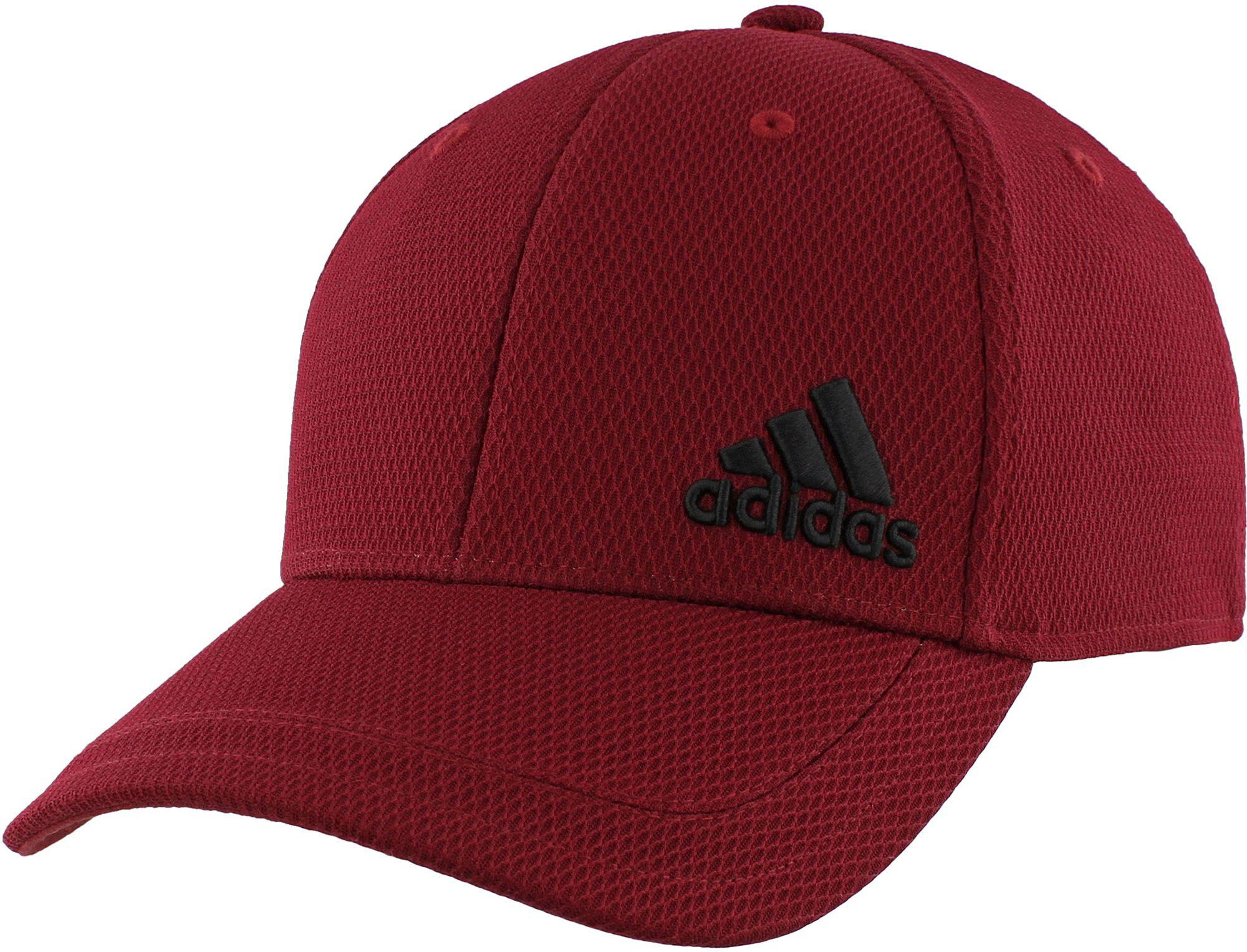 62f2d8c1c16 Lyst Adidas Release Stretch Fit Hat In Red For Men