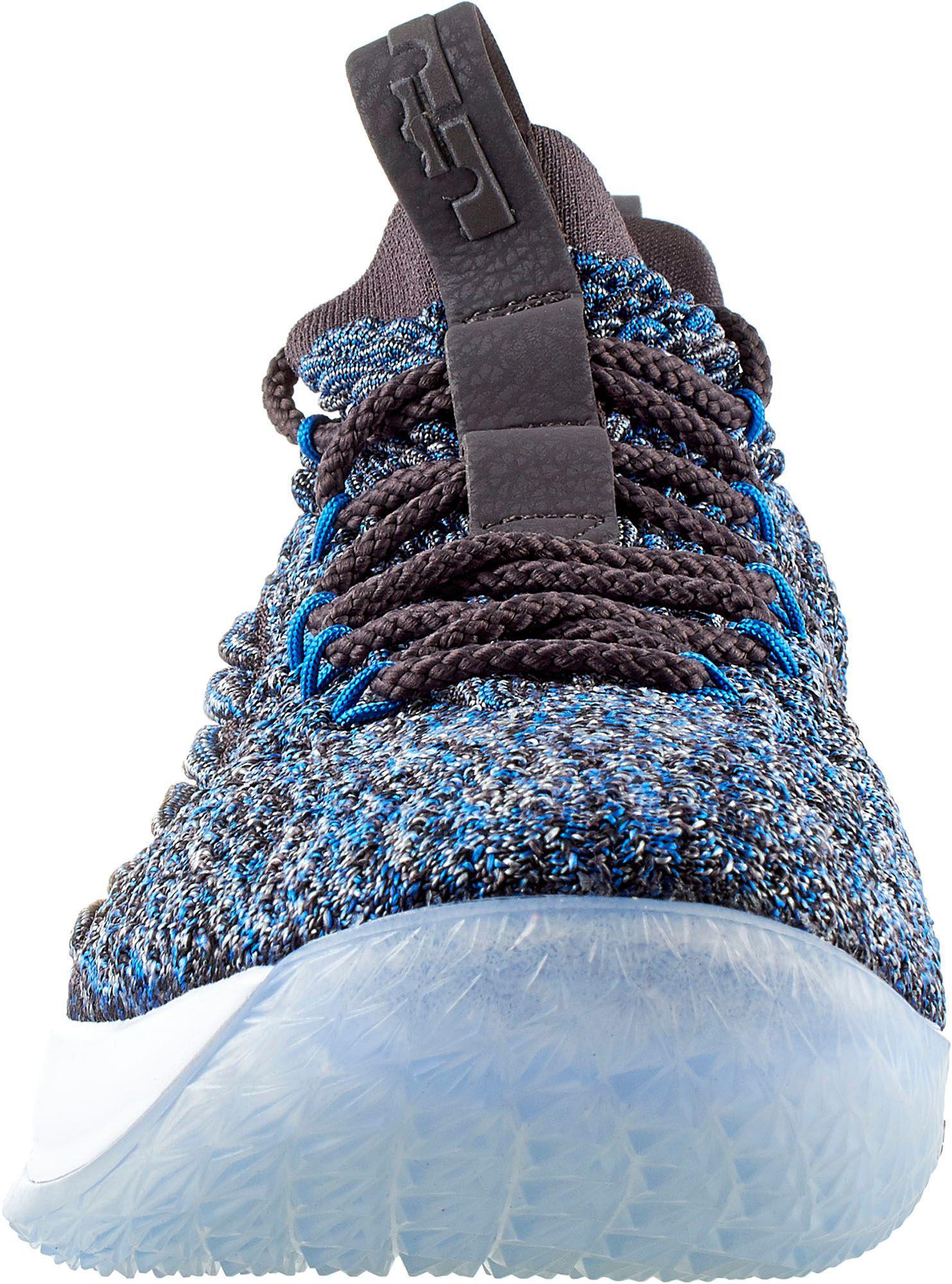 brand new 0e1ea 75b28 Nike - Blue Lebron 15 Low Basketball Shoes for Men - Lyst