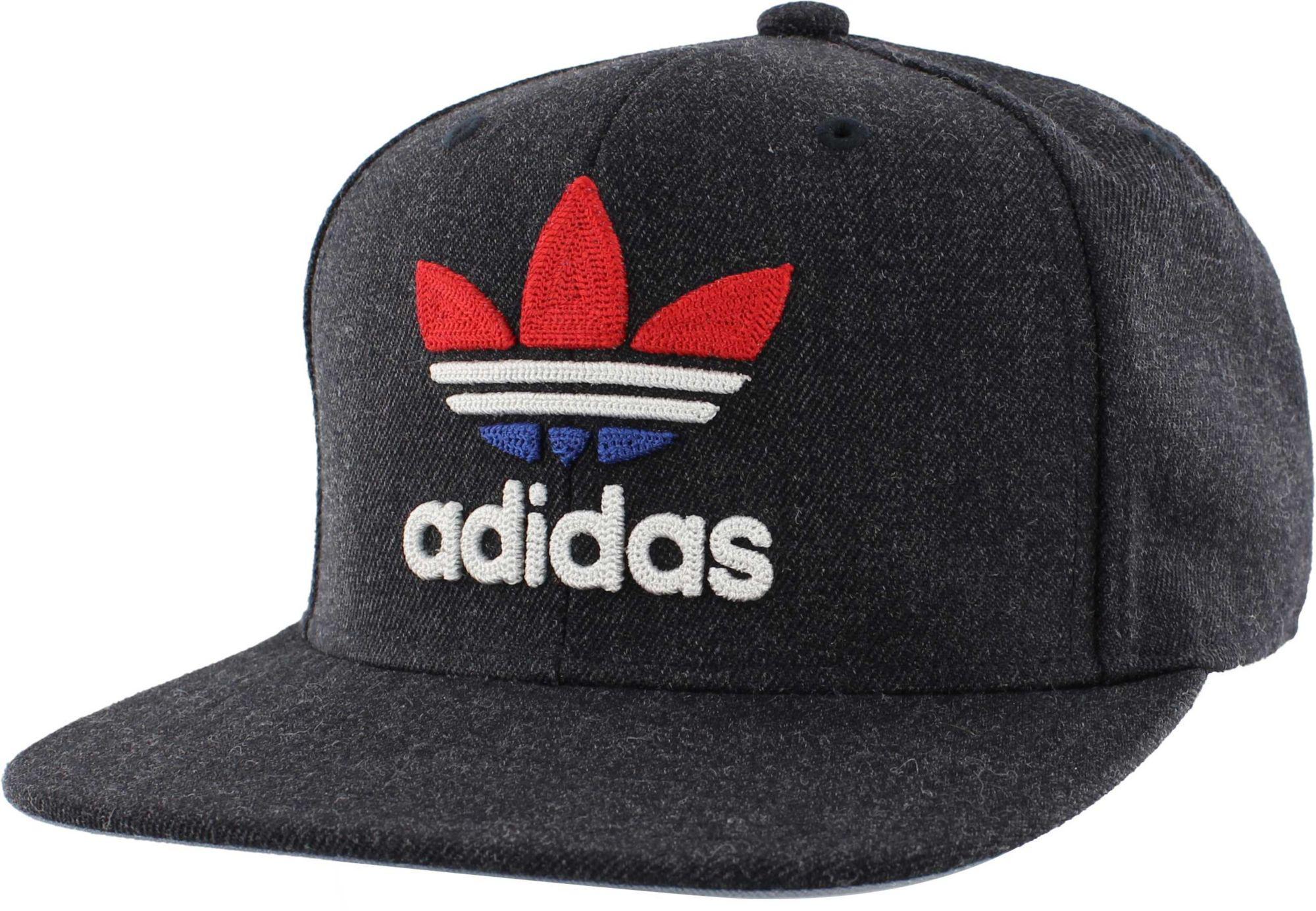 Lyst - adidas Originals Trefoil Chain Snapback Hat in Blue for Men e823c284de57