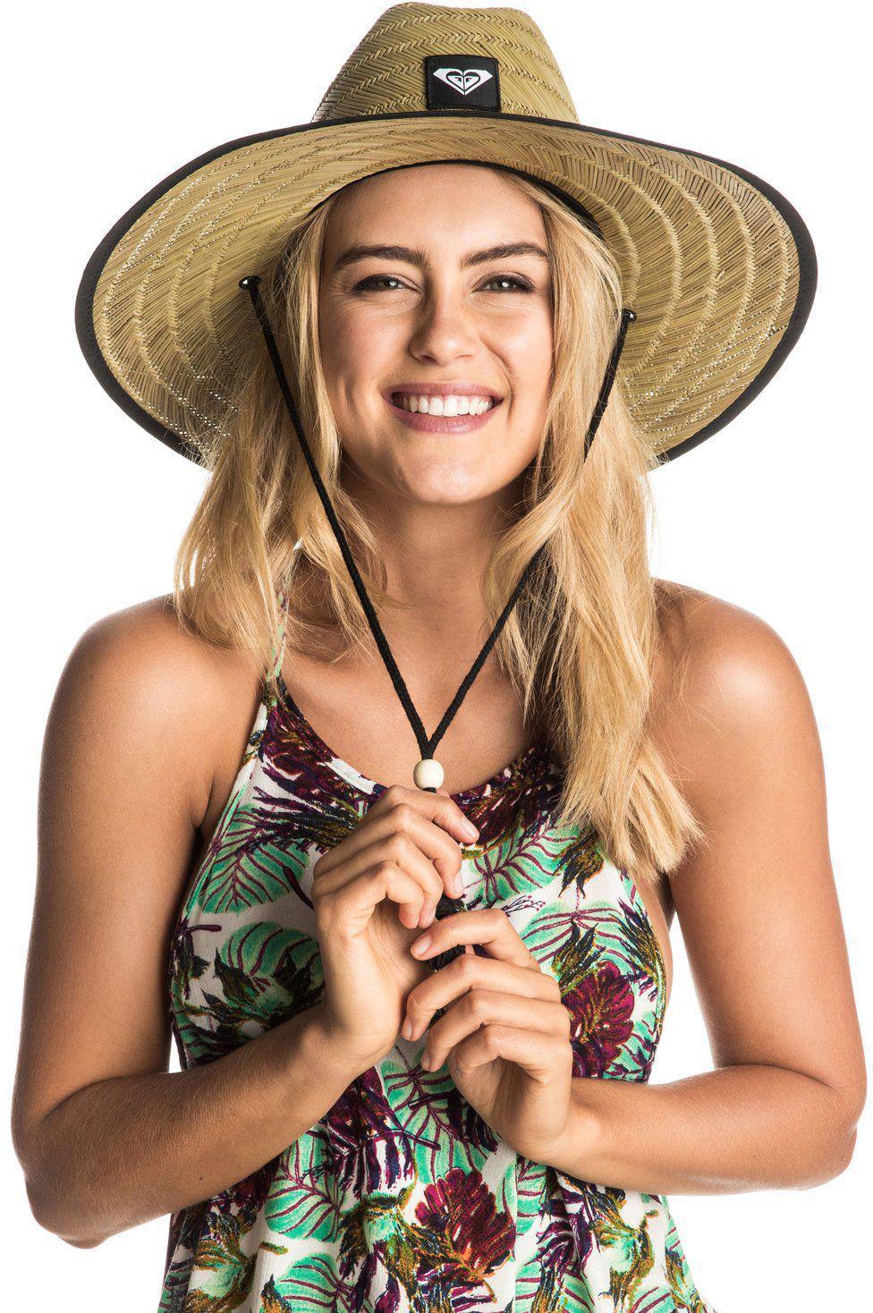 bddf0ff6c1de04 Roxy Tomboy 2 Straw Hat in Black - Lyst