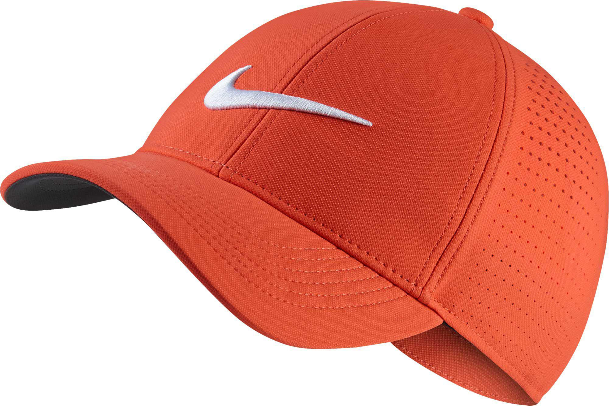 927db5bd082 Lyst - Nike Aerobill Legacy91 Perforated Golf Hat in Orange for Men