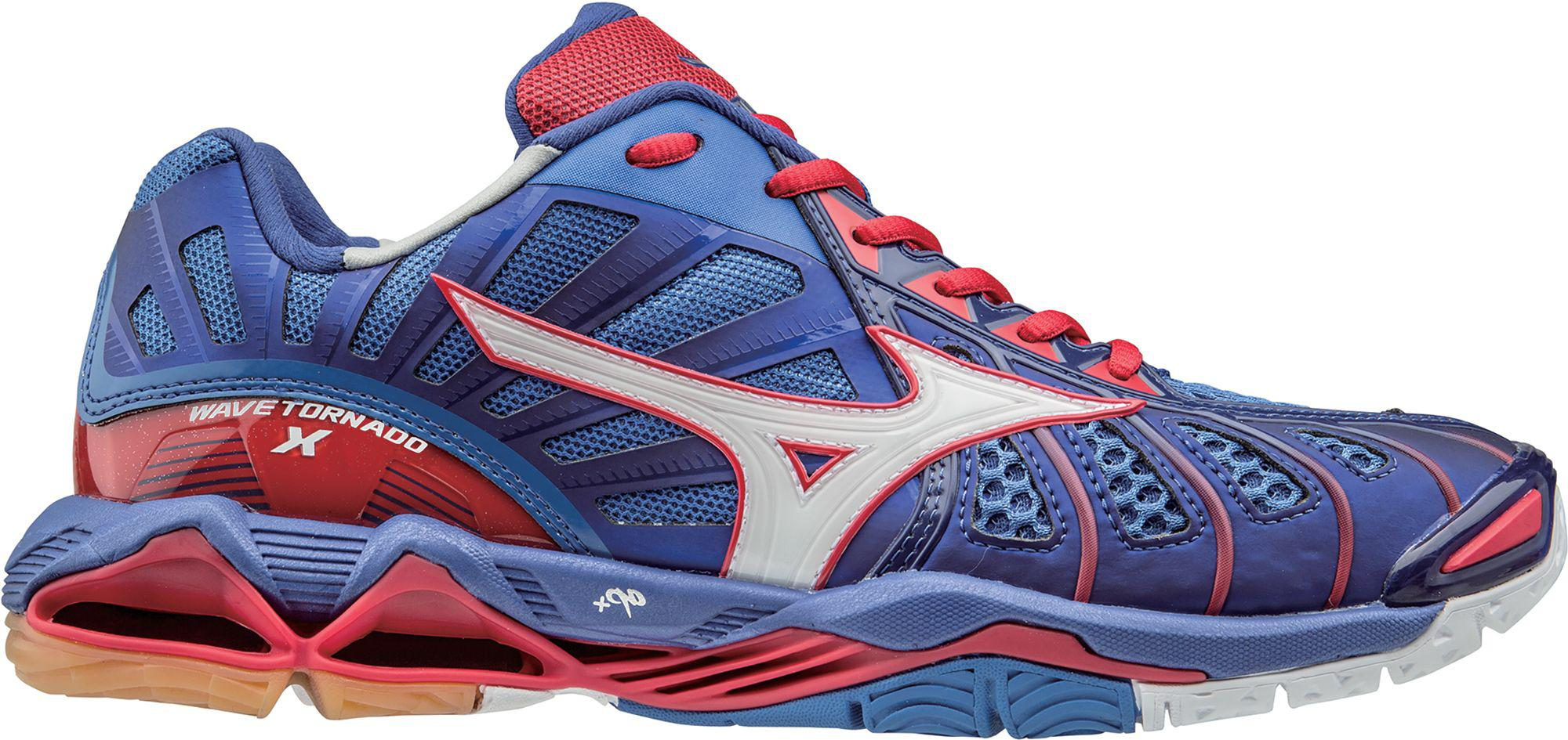 Blue Mizuno Volleyball Shoes