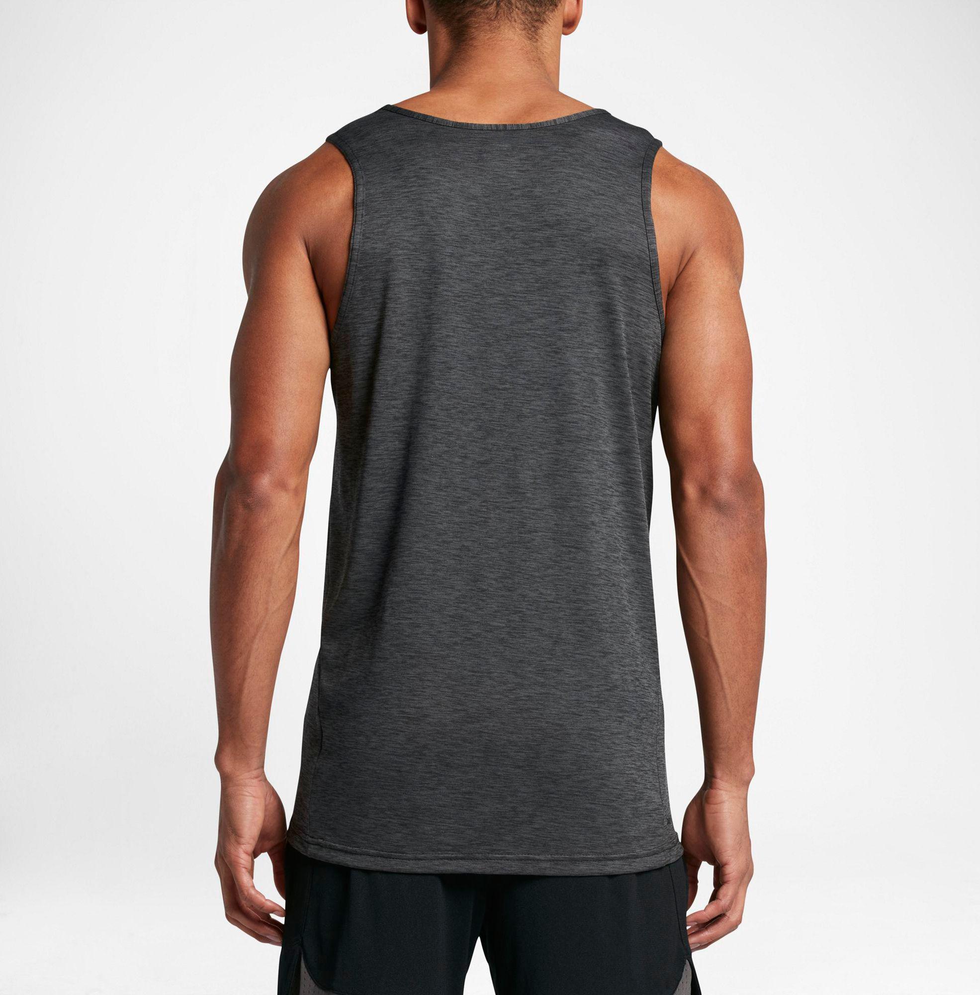 d3b500058aef1 Lyst - Nike Hyper Dry Breathe Tank Top in Black for Men