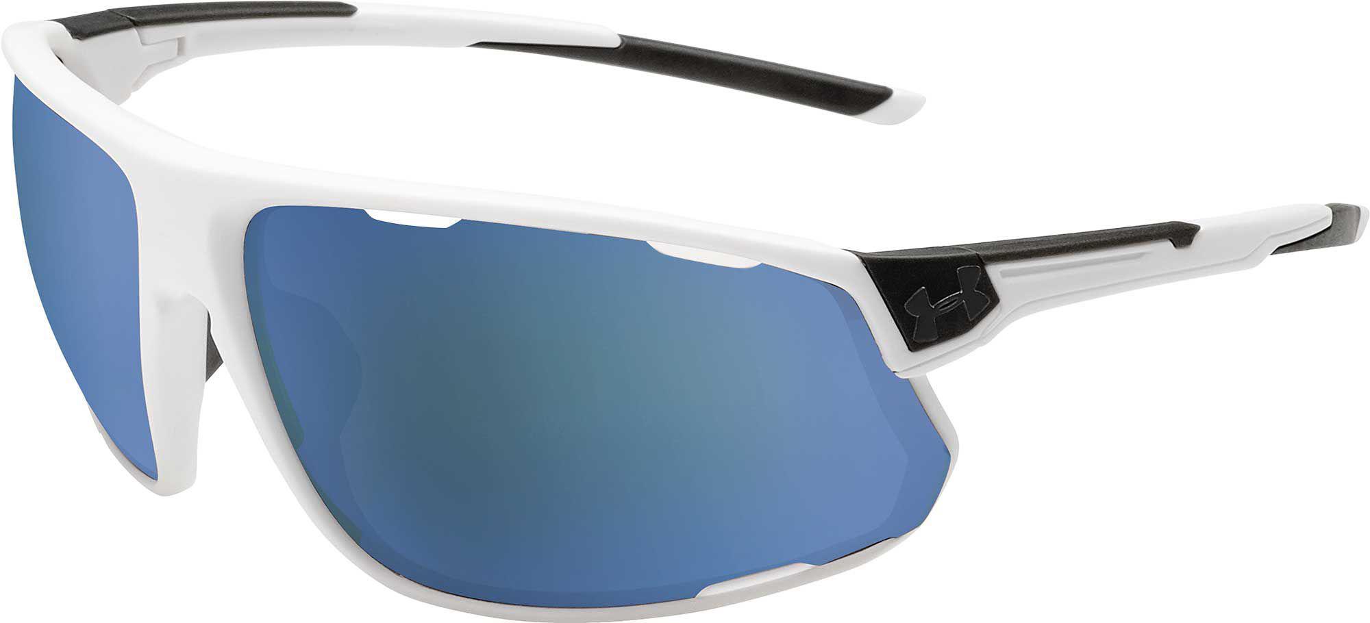 5931ed19e22 Lyst - Under Armour Strive Tuned Baseball Sunglasses in Blue for Men
