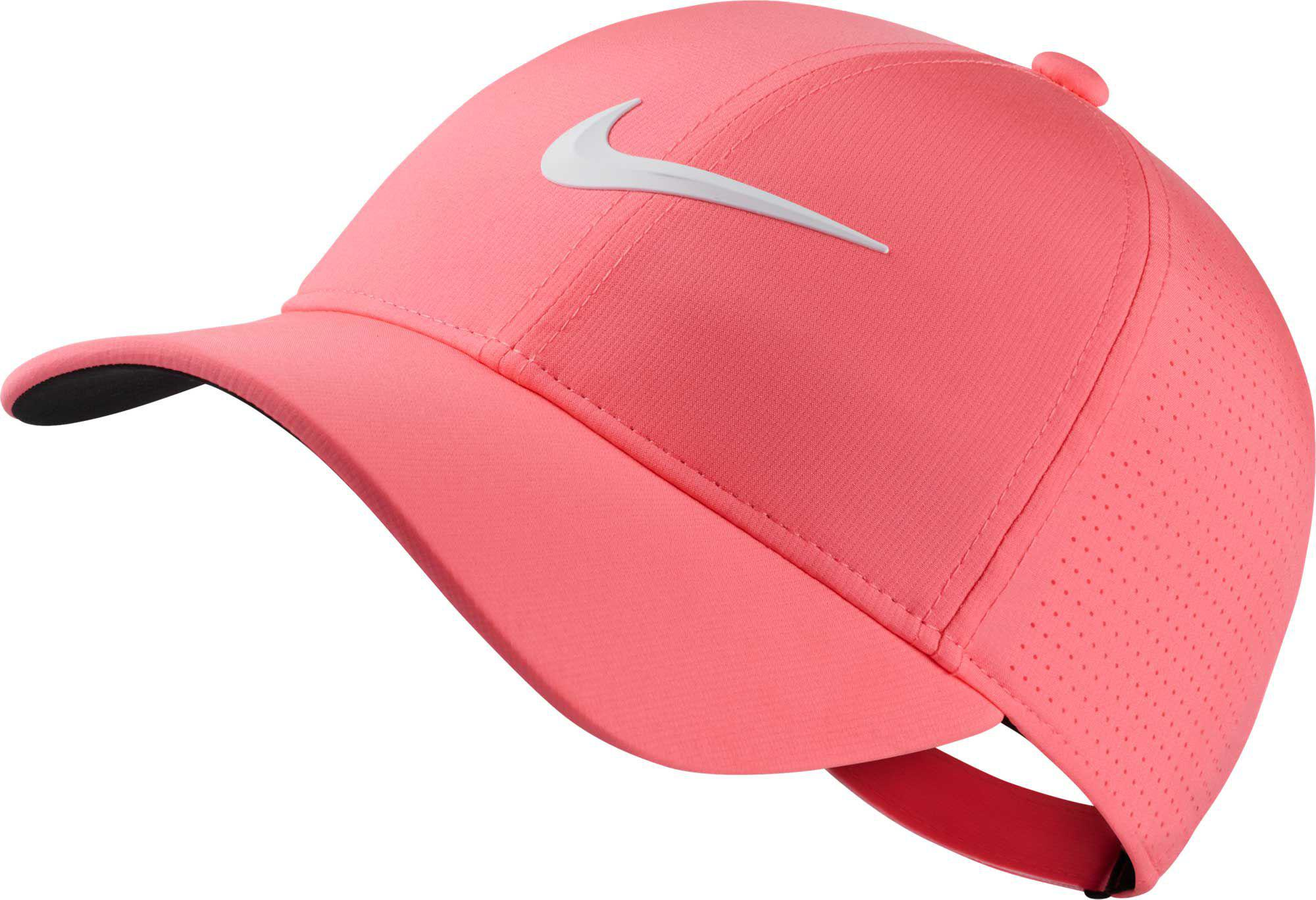 a4b4bbfd Nike 2018 Aerobill Legacy91 Perforated Golf Hat in Pink - Lyst