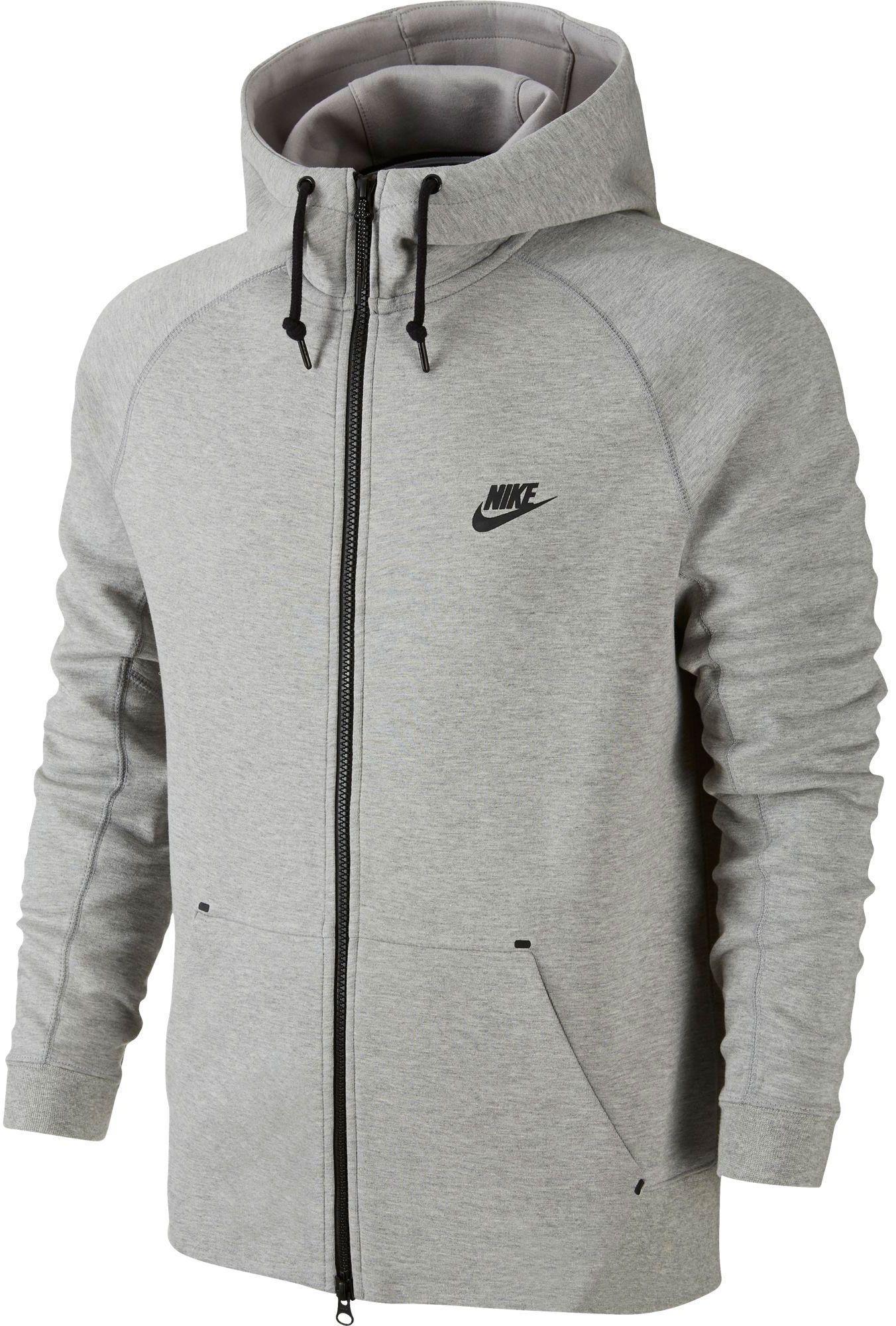 b3cb6789d00 Lyst - Nike Tech Fleece Aw77 Full Zip Hoodie in Gray for Men