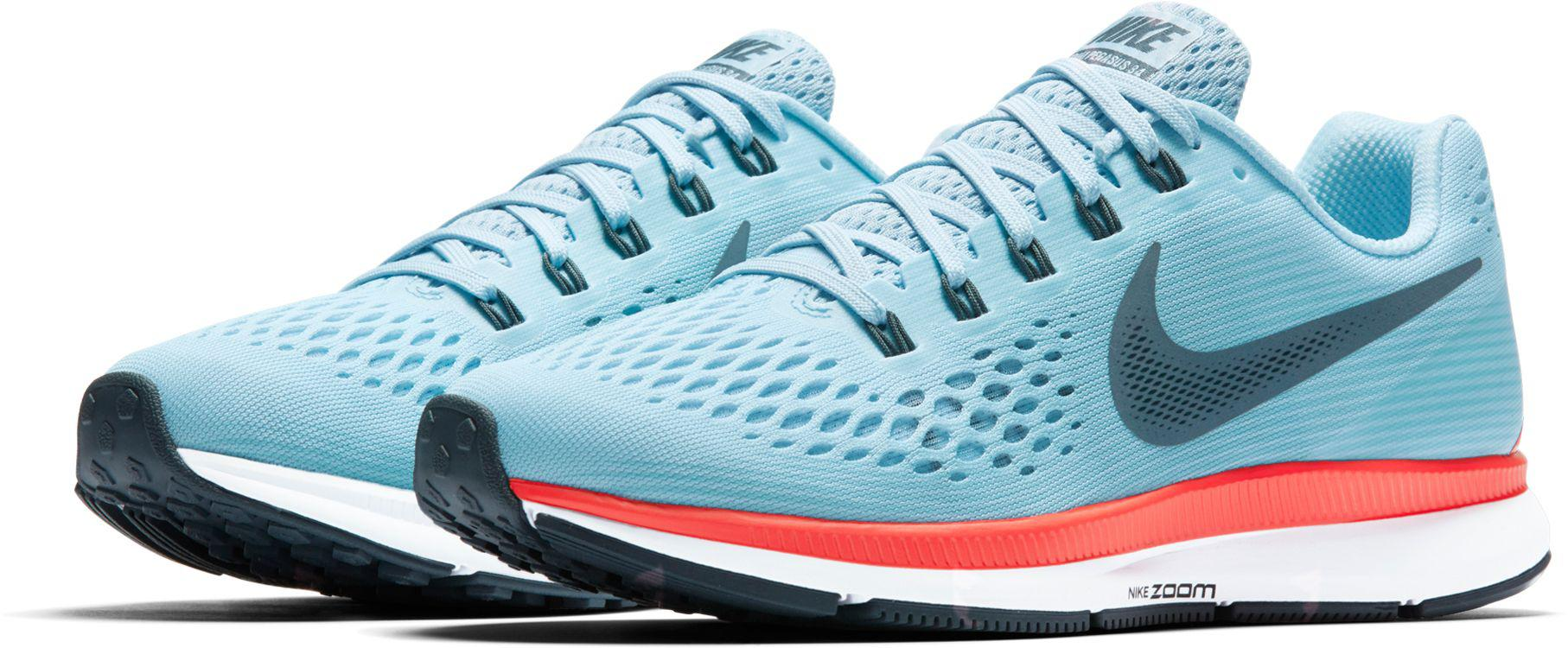 Nike - Blue Zoom Pegasus 34 Running Shoes for Men - Lyst