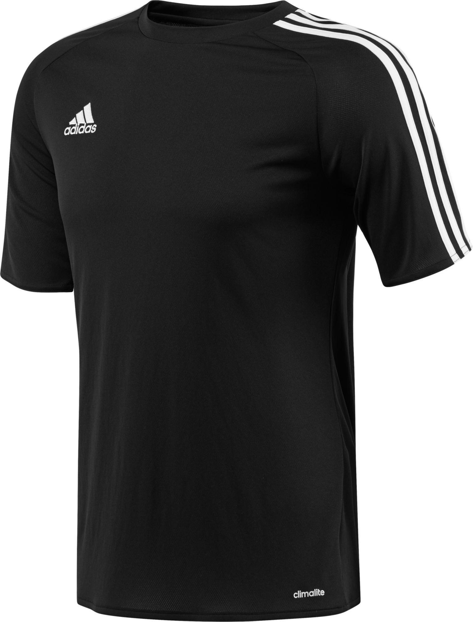 916f8c163 Lyst - Adidas Estro 15 Short Sleeve Soccer Jerse in Black for Men