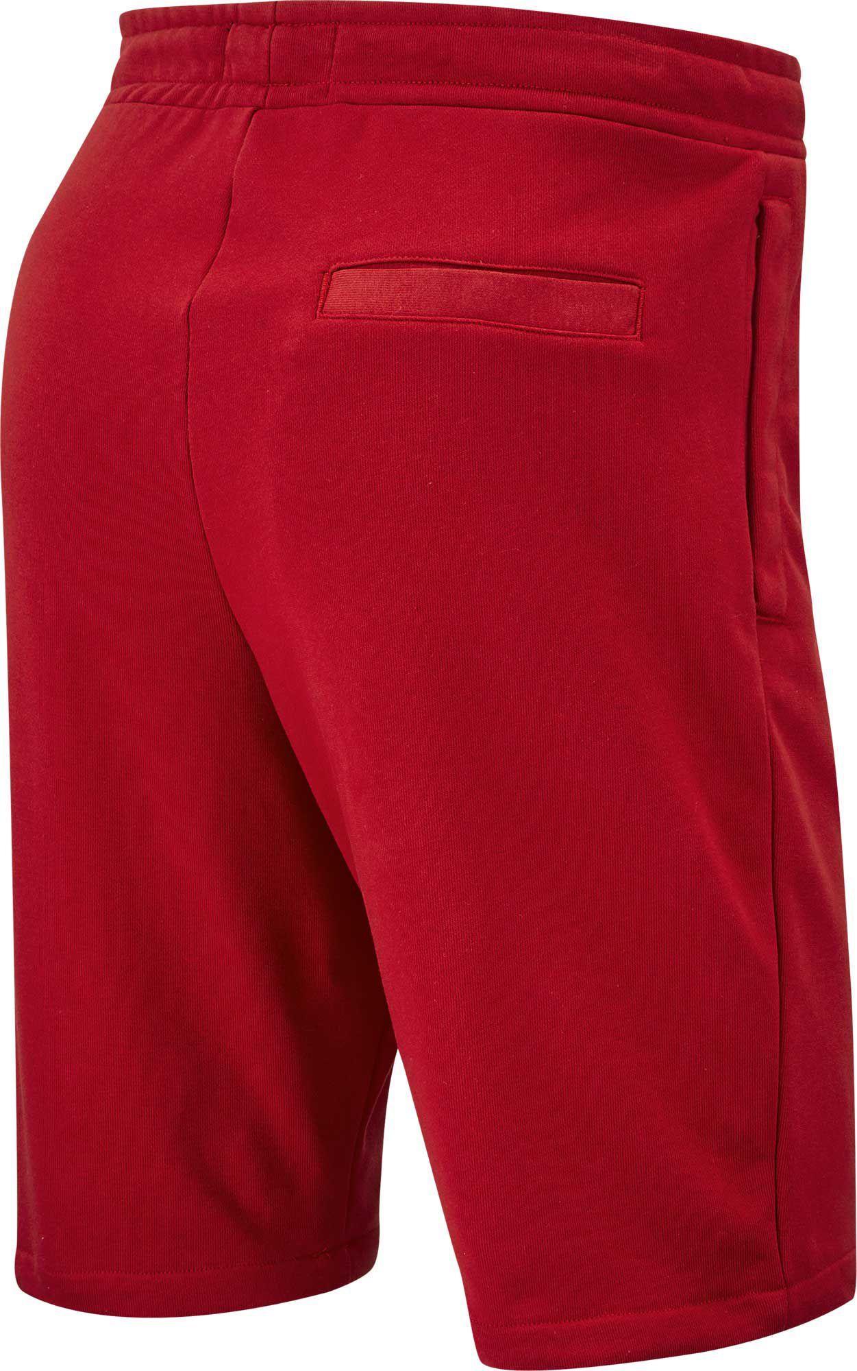 3b9f90bb6e1b29 Nike - Red Jordan Jumpman Air Fleece Shorts for Men - Lyst. View fullscreen