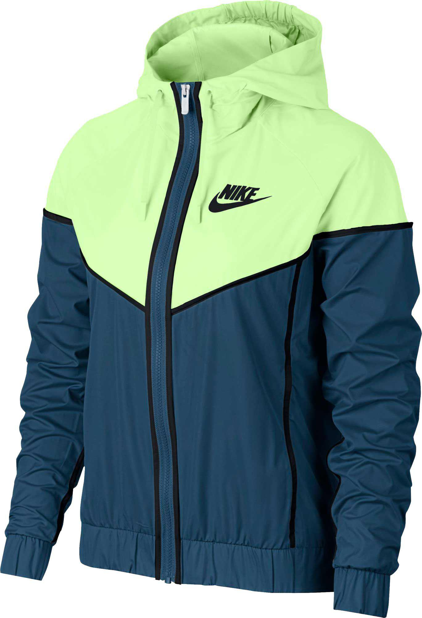 check out 0be01 05fdb Nike - Blue Sportswear Windrunner Jacket - Lyst