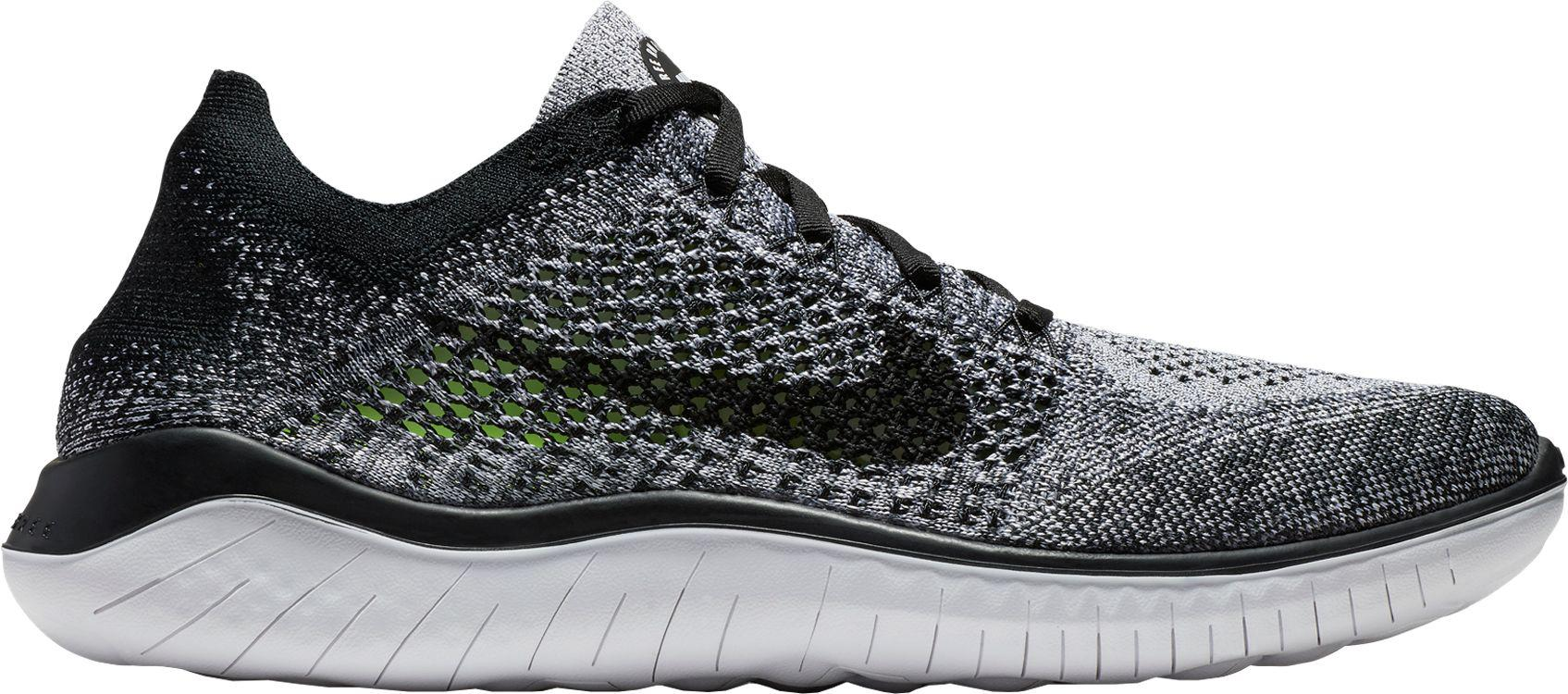 a92b3f0bb89 Lyst - Nike Free Rn Flyknit 2018 Running Shoes in Black for Men