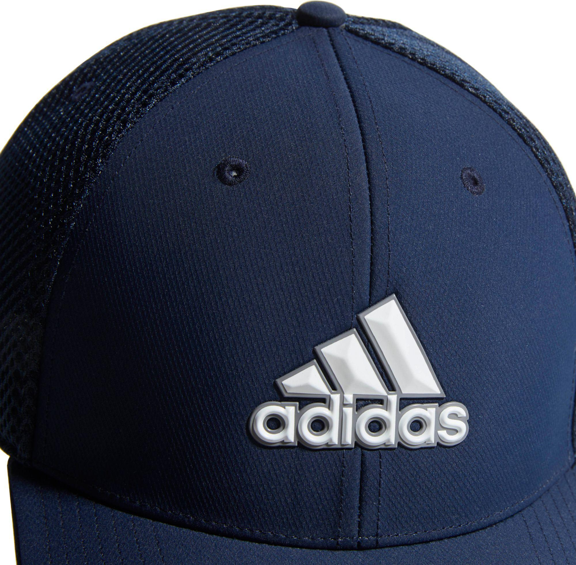 Adidas - Blue A-stretch Badge Of Sport Tour Golf Hat for Men - Lyst. View  fullscreen 432bfdbe7d82