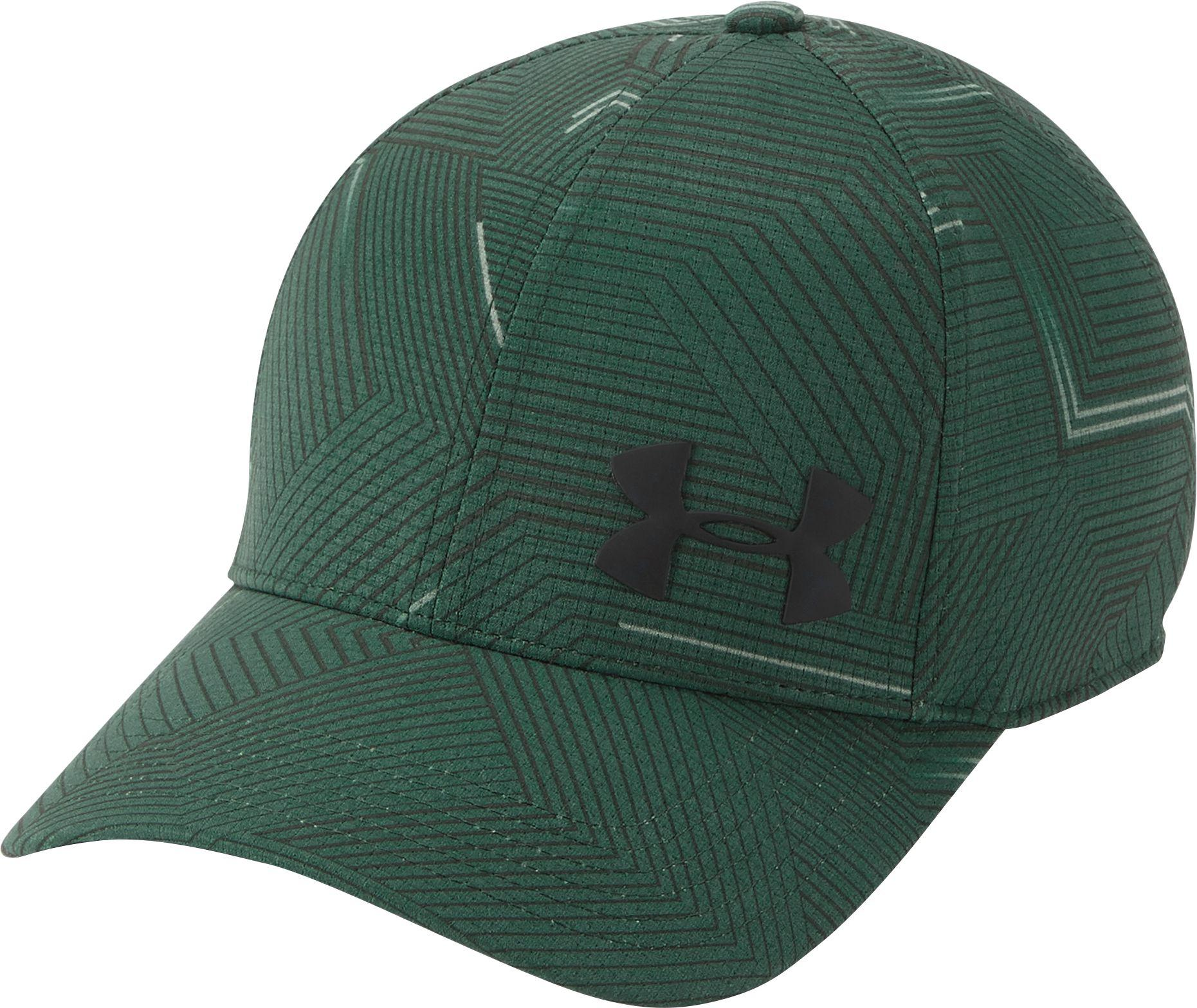 9200e472fd7 ... UA Blitzing II Stretch Fit Cap (Neon Green)  Under armour Baseball Cap  Green Hats for Men for sale