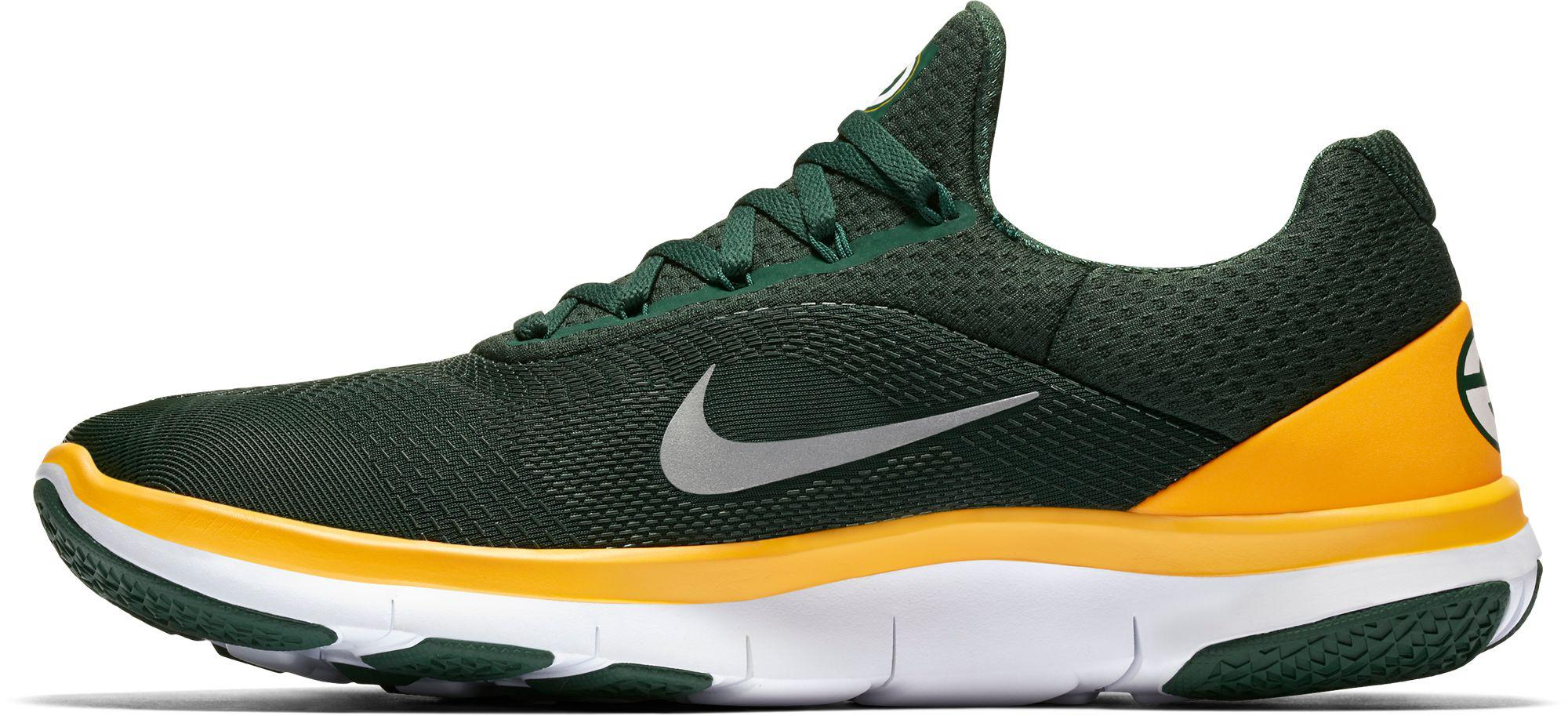 the best attitude 45044 a2368 Nike - Green Free Trainer V7 Nfl Packers Training Shoes for Men - Lyst