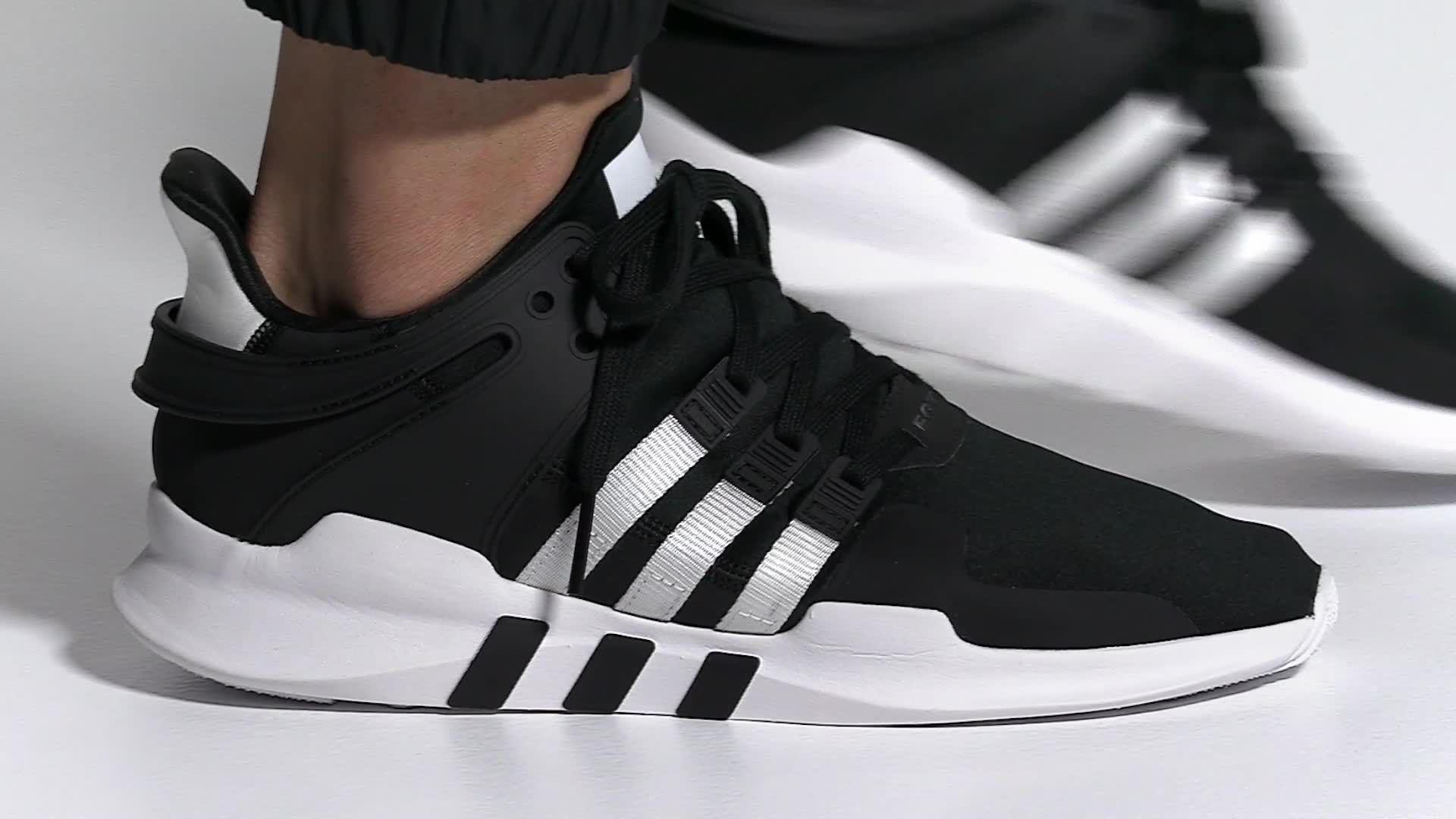 check out 363f7 b9377 Adidas - Gray Originals Eqt Support Adv Shoes for Men - Lyst. View  fullscreen