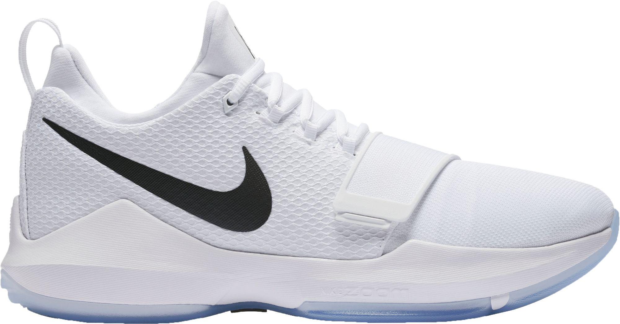2c3ad303a562 Nike Pg 1 Basketball Shoes in White for Men - Lyst