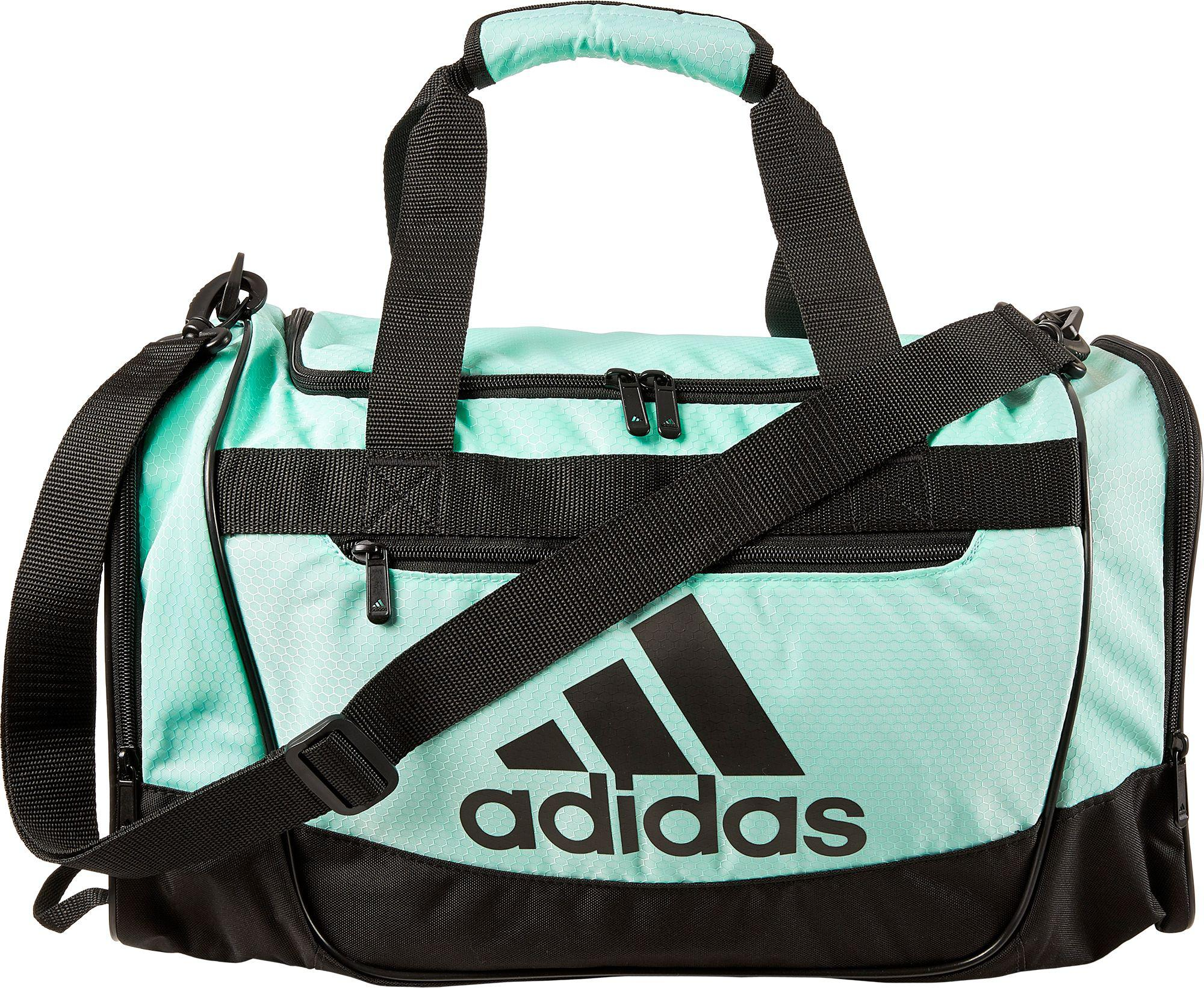 85c289d7ea Lyst - adidas Defender Iii Small Duffle Bag in Green for Men