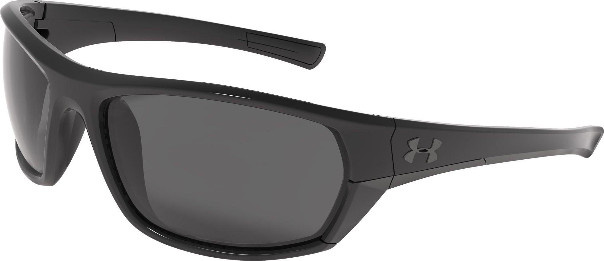 eb3b9d06540 Lyst - Under Armour Powerbrake Storm Polarized Sunglasses in Black ...
