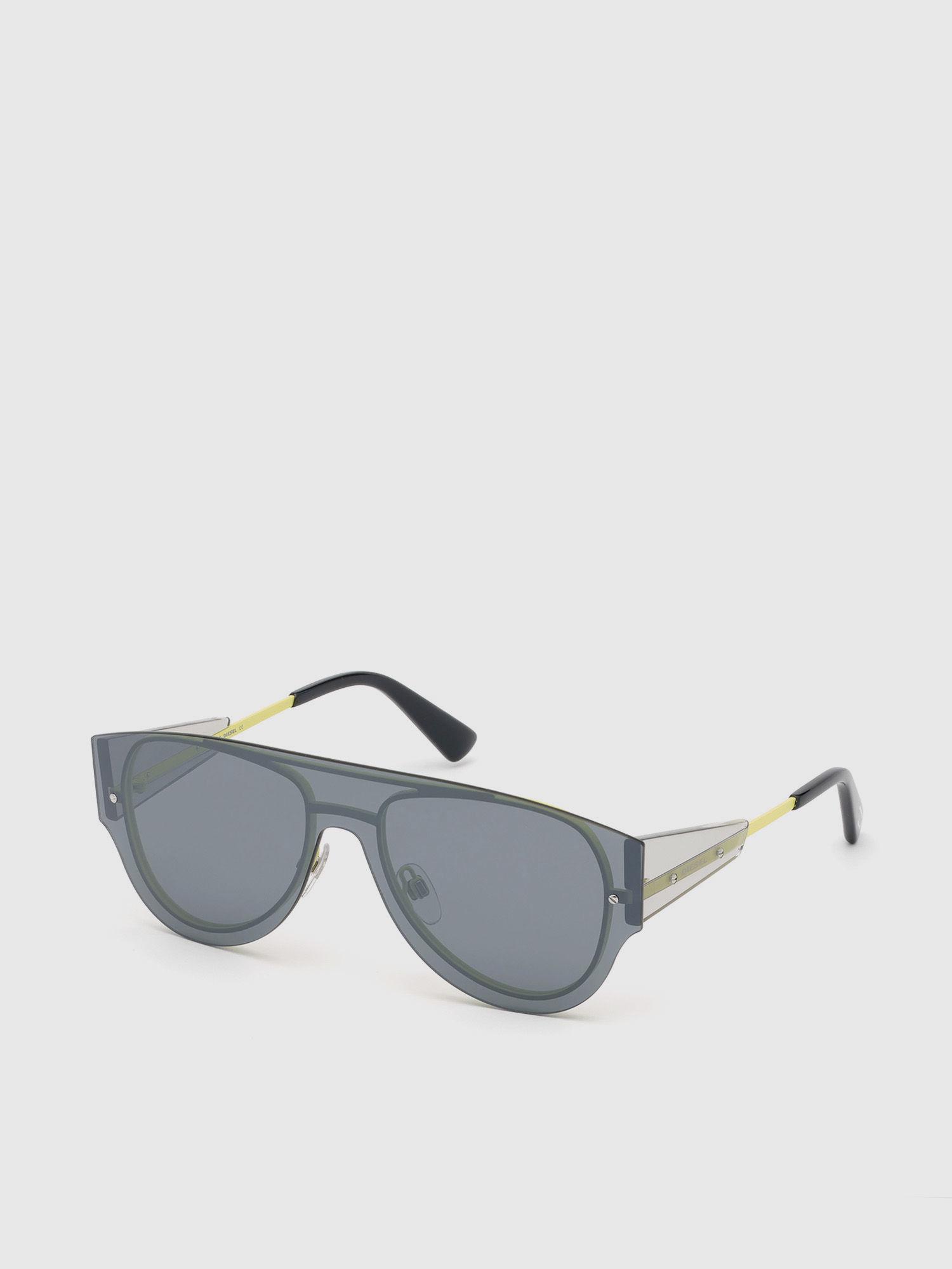 6054b20097a Diesel Pilot Shape Sunglasses In Metal - Lyst