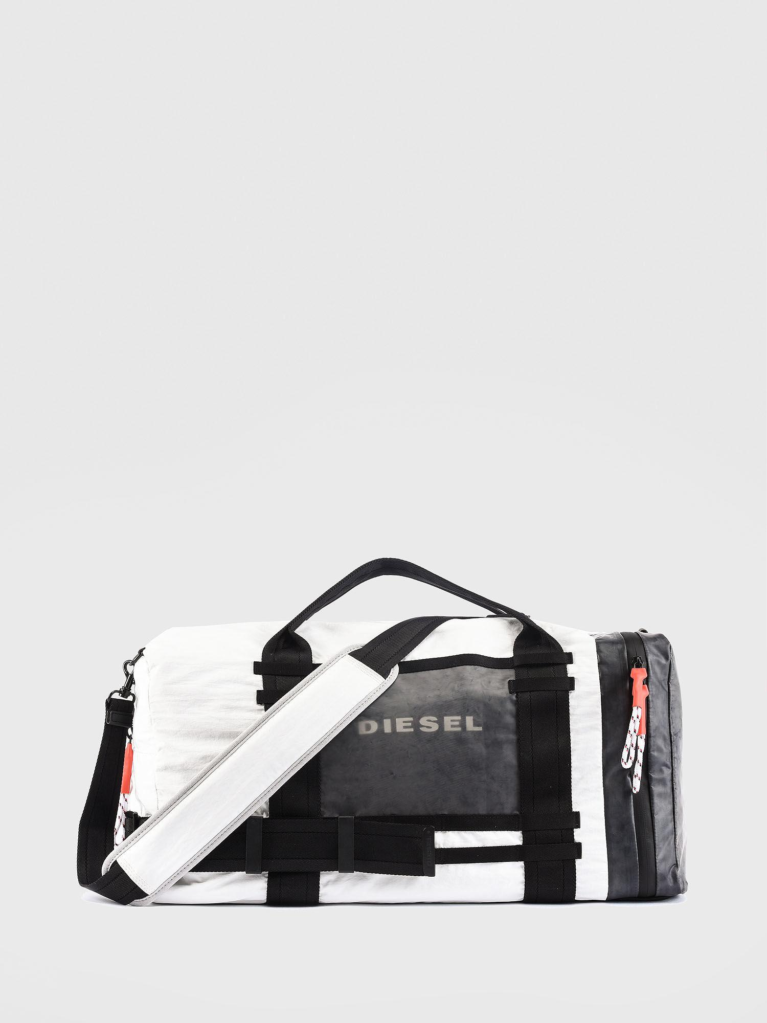 c49ea061bf1f DIESEL - Black Nylon Duffel With Sporty Detailing for Men - Lyst. View  fullscreen