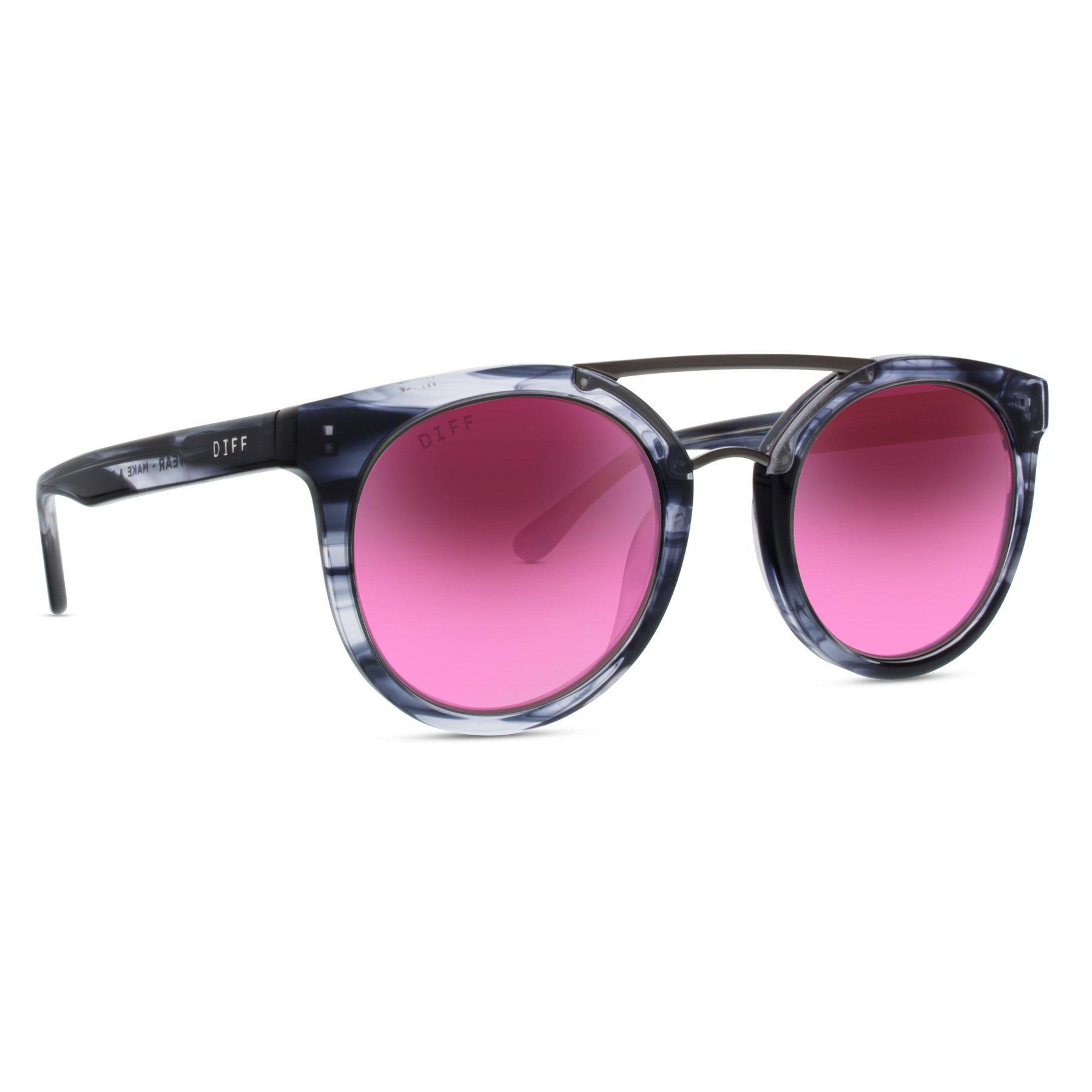 1791bafe19 Lyst - DIFF Astro - Grey Slate + Rose Gradient + Polarized in Gray