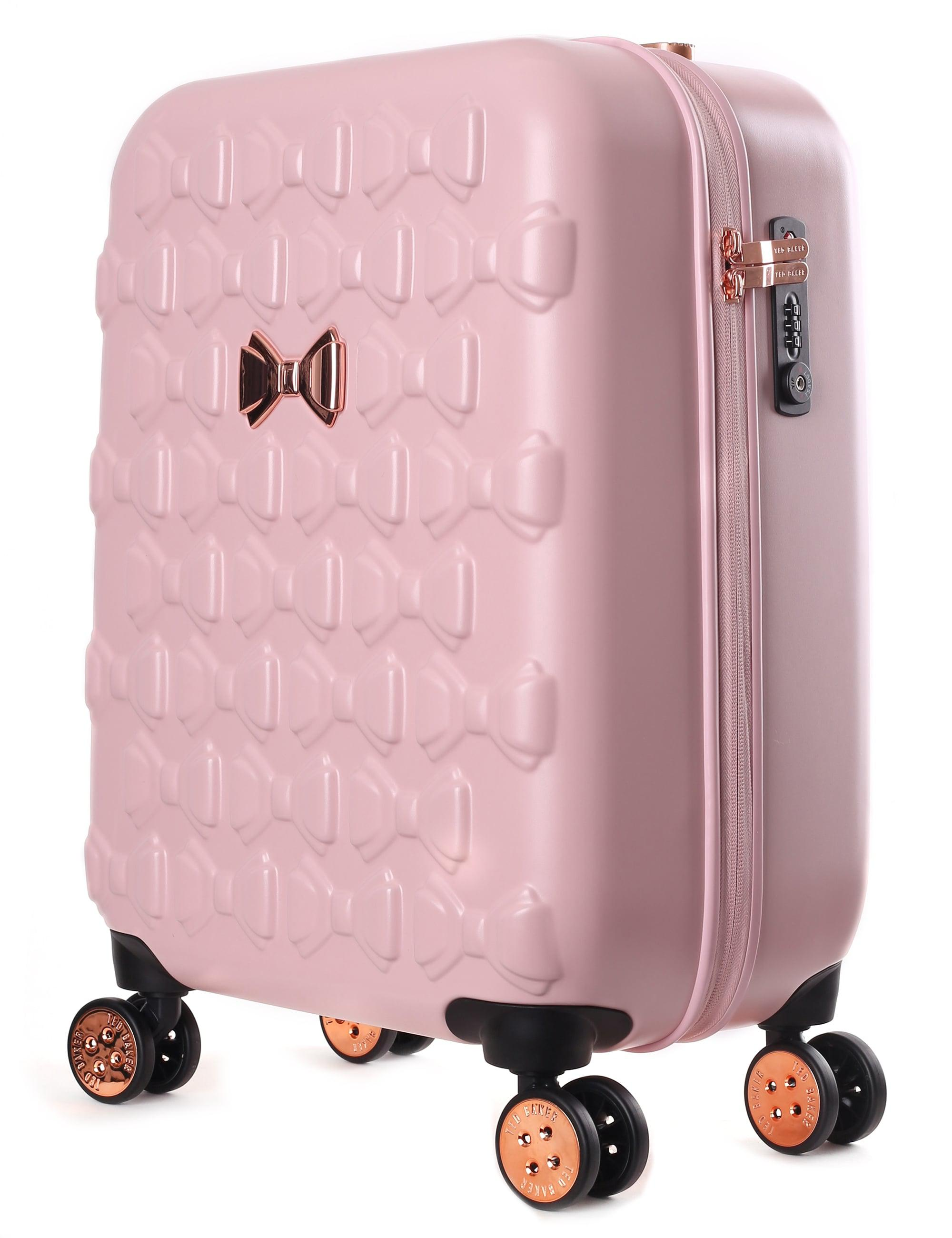 12c12be85dc158 ... Ted Baker Beaue Women s Moulded Bow 4 Wheel Trolley Pink in Pink - Lyst  best  Beau ...