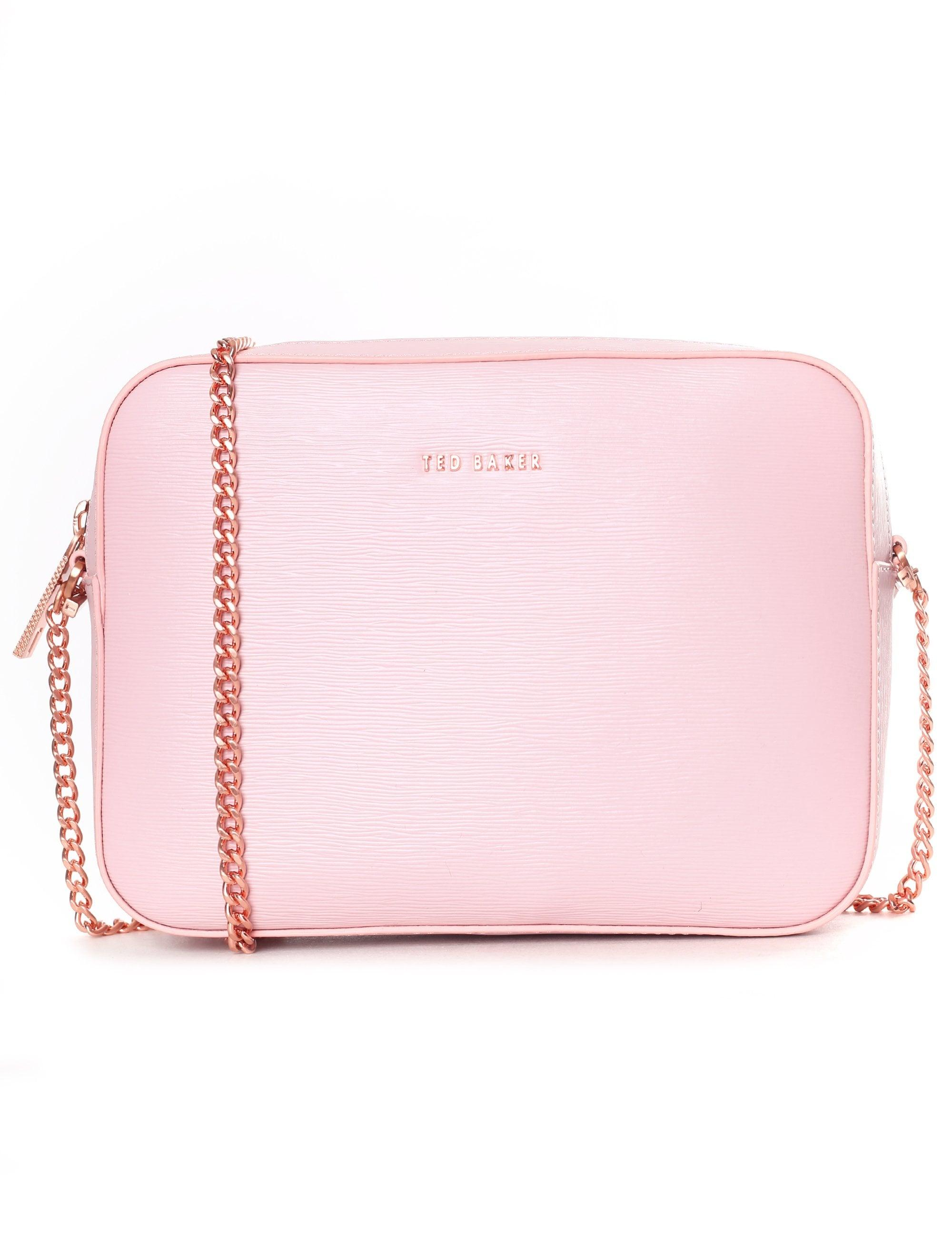 dc2aba3c9 Ted Baker - Women s Juliie Leather Cross Body Camera Bag Light Pink - Lyst.  View fullscreen
