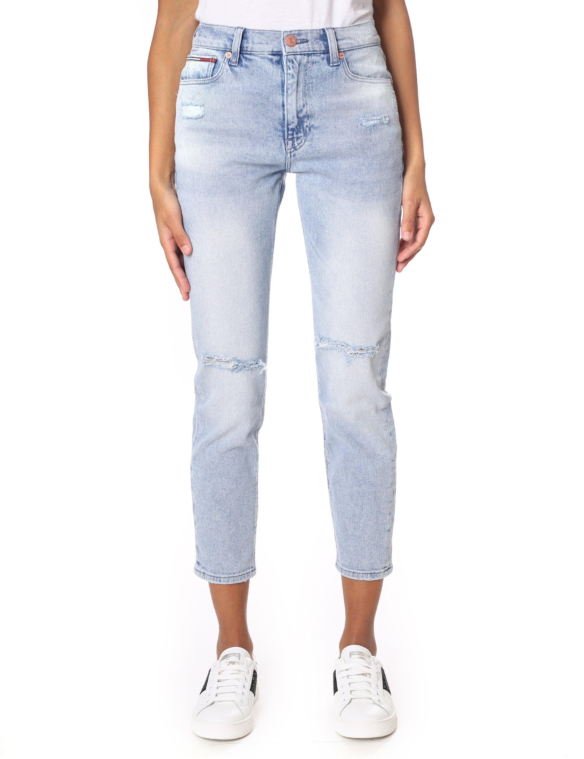 33ac5078b18208 Tommy Hilfiger High Rise Slim Izzy Jean in Blue - Lyst
