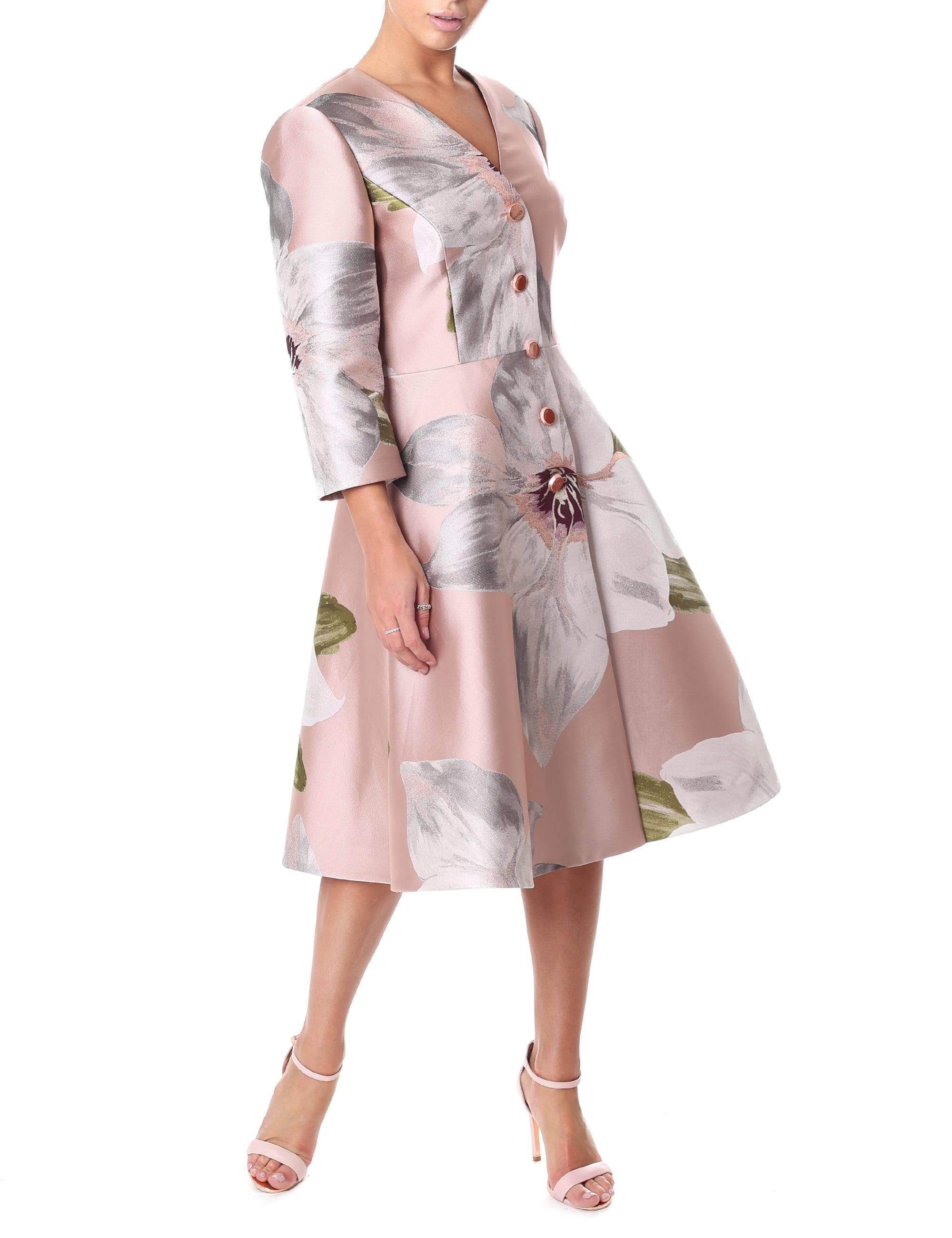 d3c8dfcd6 Ted Baker Women s Ottie Chatsworth Dress Coat Dusky Pink in Pink - Lyst