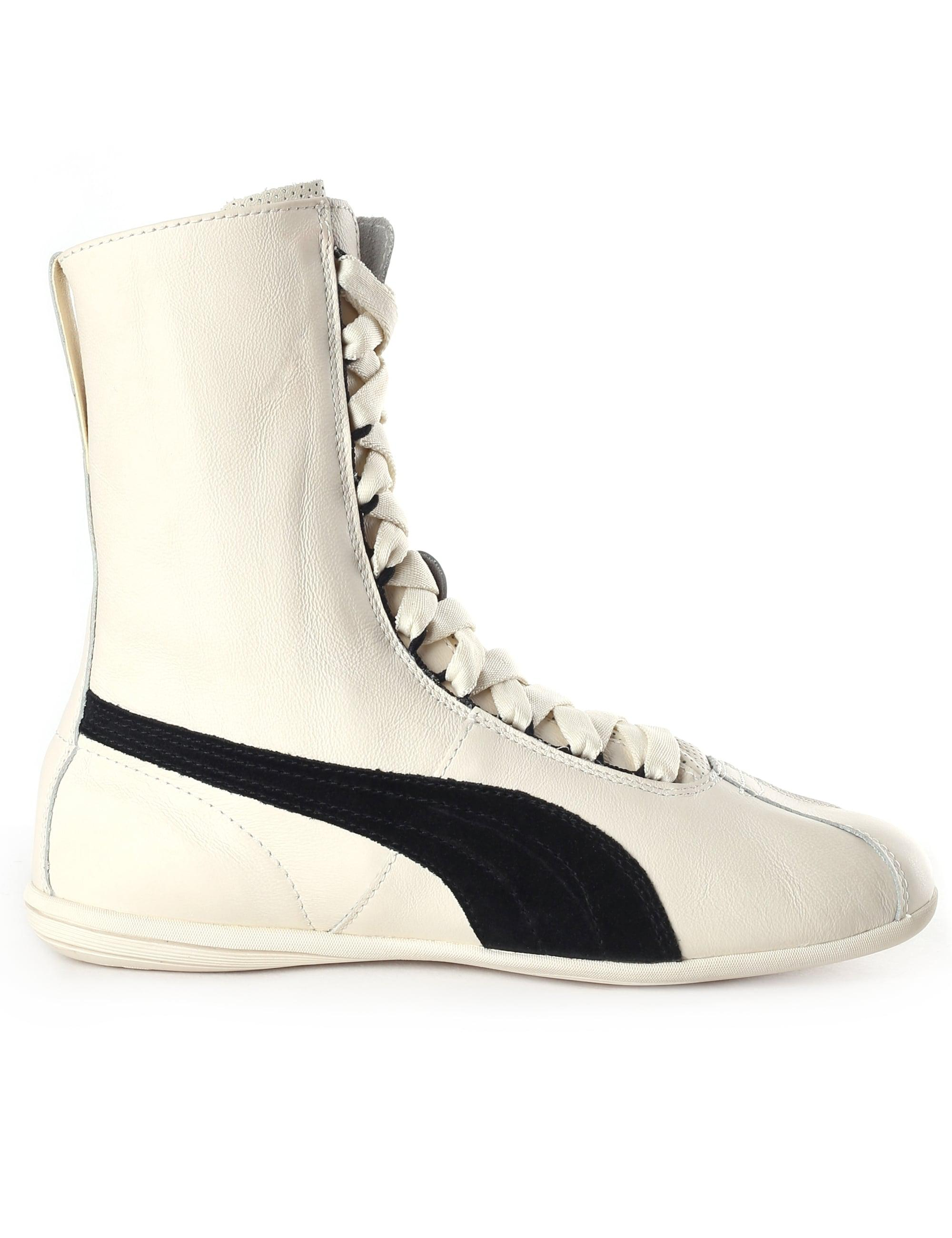b772cf78dc3 Puma Eskiva Boxing Hi Top Trainers in White - Lyst