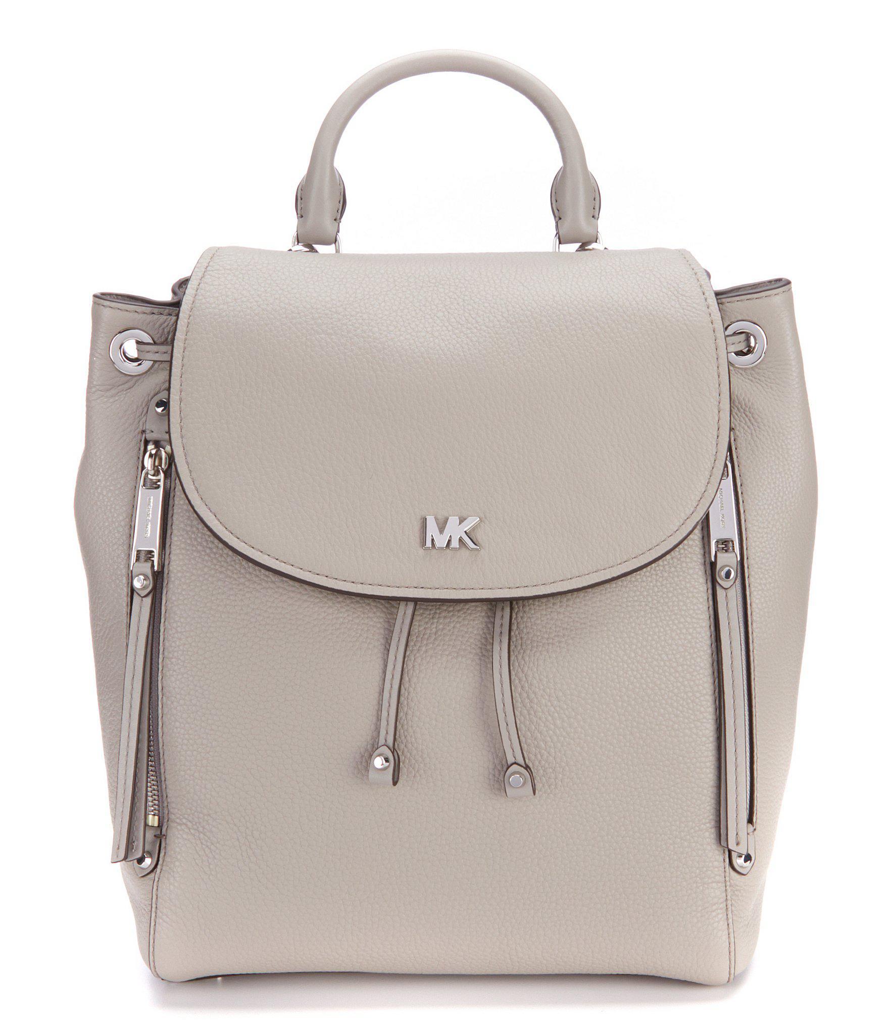 db86e5aced29 MICHAEL Michael Kors Evie Medium Backpack in Black - Lyst