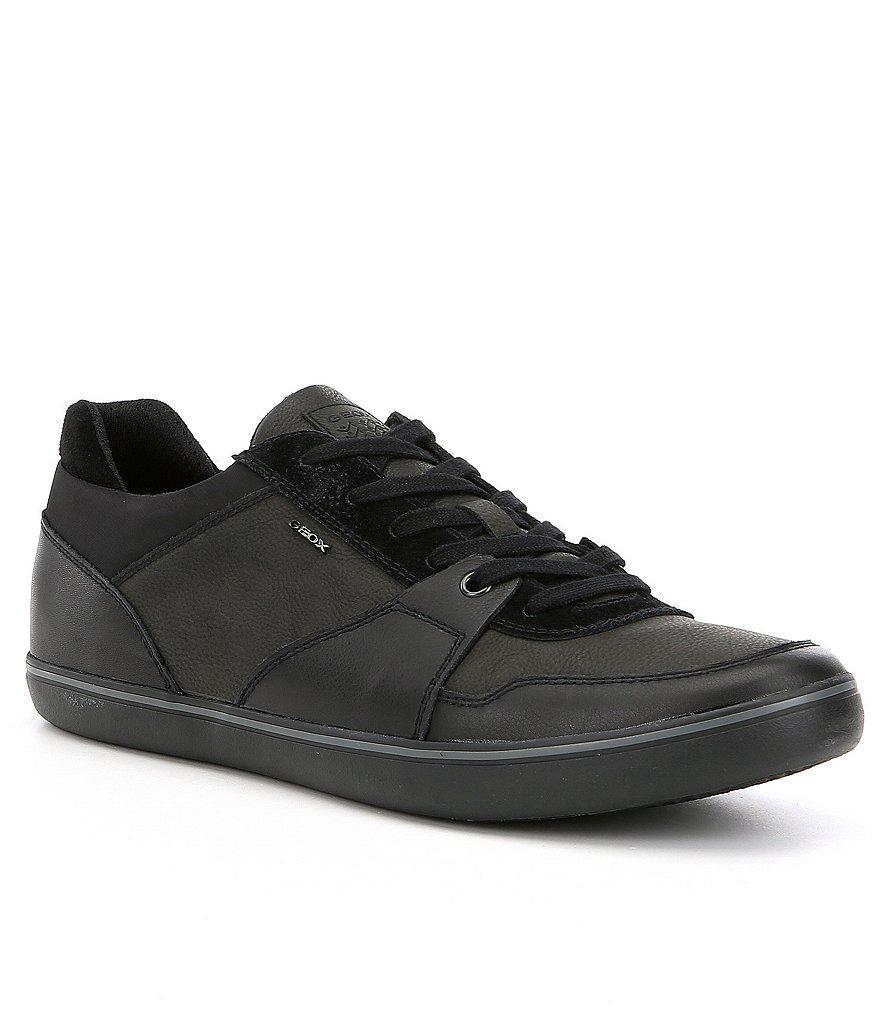 Geox. Black Men's Box 28 Sneakers