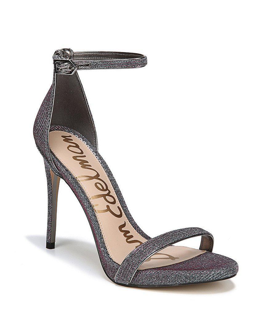 Ariella Metallic Mesh Fabric Dress Sandals r5ZCh