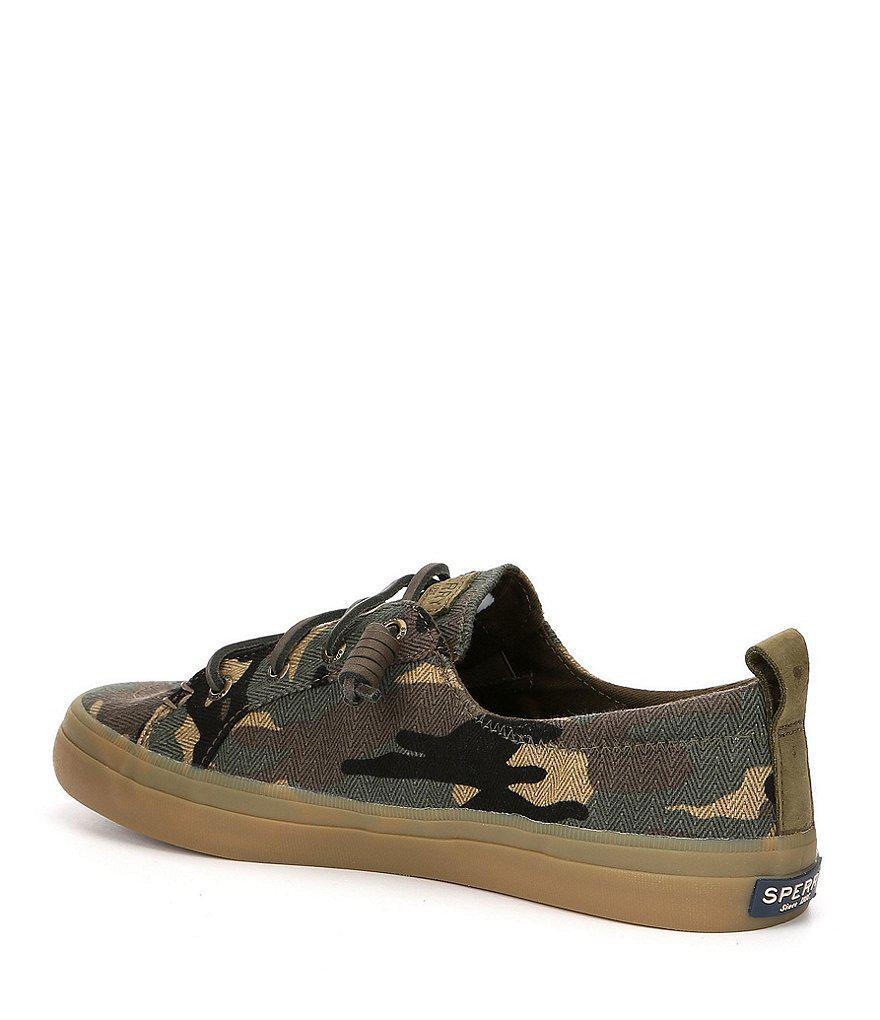 Camo Crest Vibe Prints Camo Slip On Sneakers nUTIn2iagr