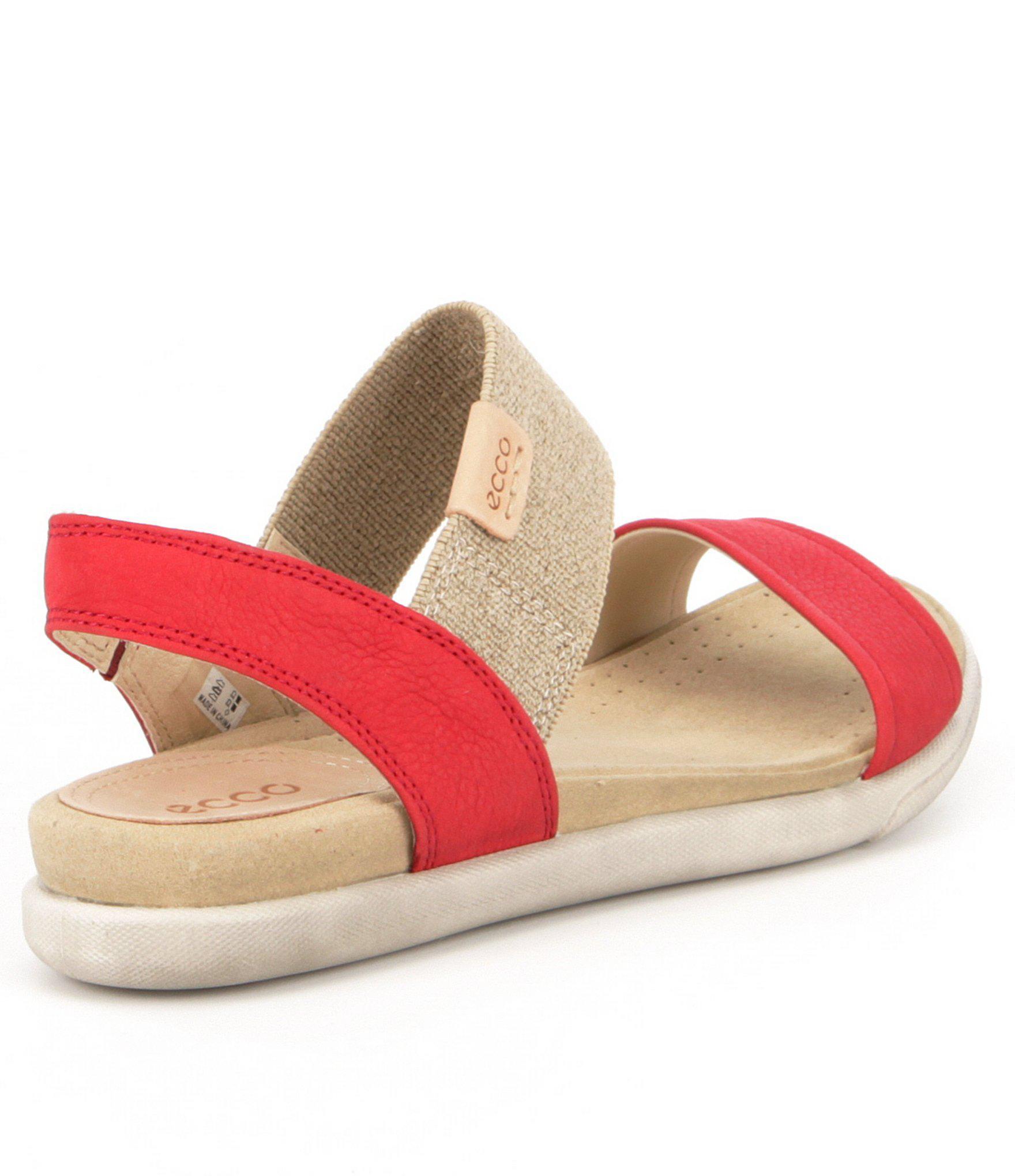 66fb11e5d7b9 Ecco Damara Women S Sandals in Red - Lyst