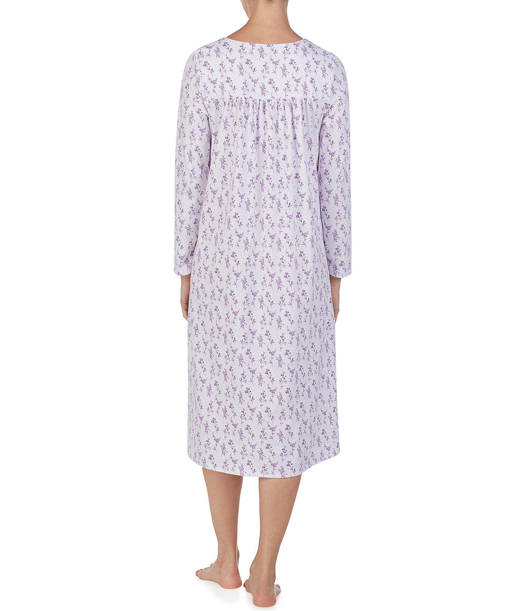 997085012f Lyst - Eileen West Jersey Knit Ballet Nightgown in Purple