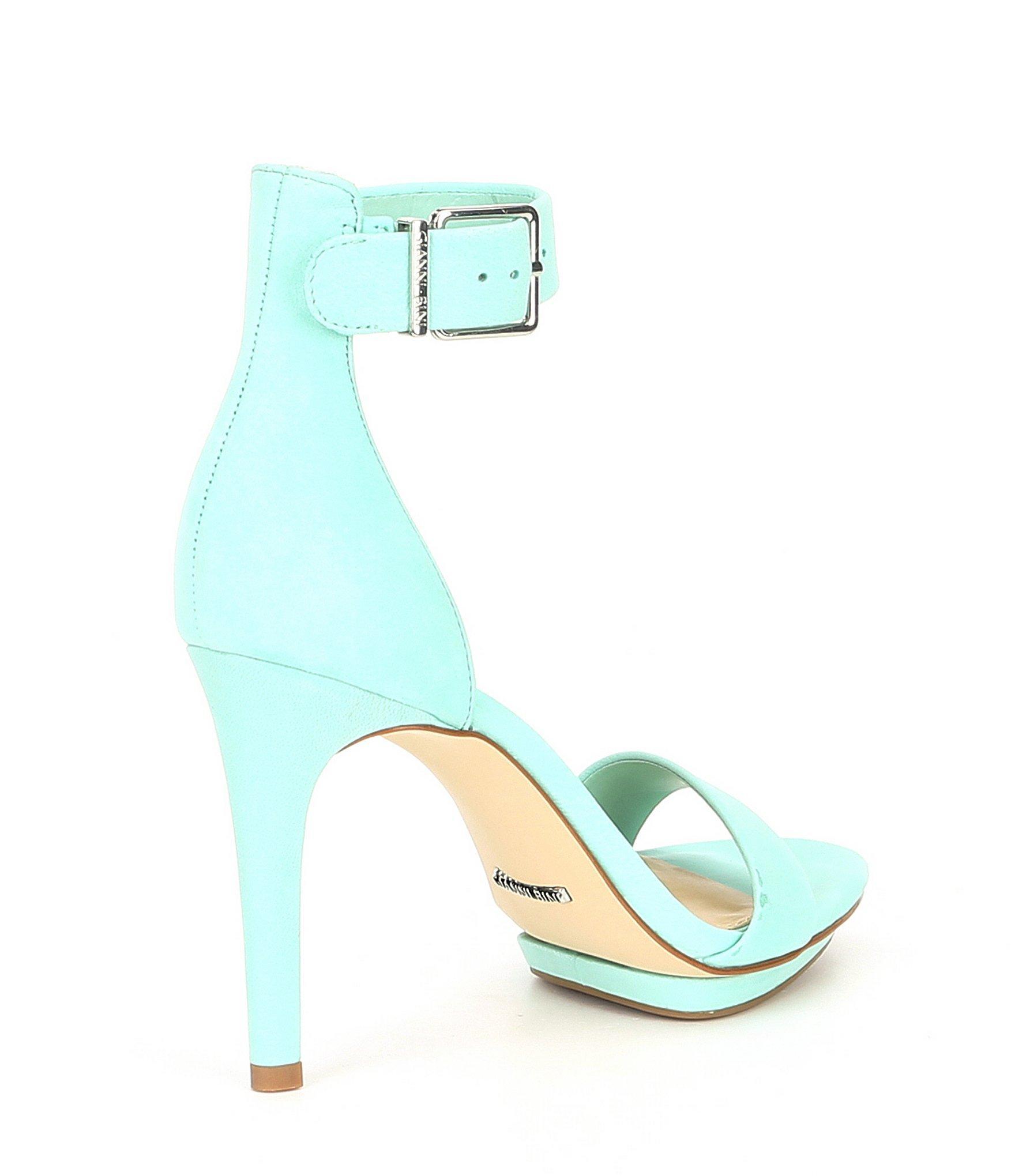 d5ccd96ba5a Gianni Bini - Blue Lizette Nubuck Dress Sandals - Lyst. View fullscreen