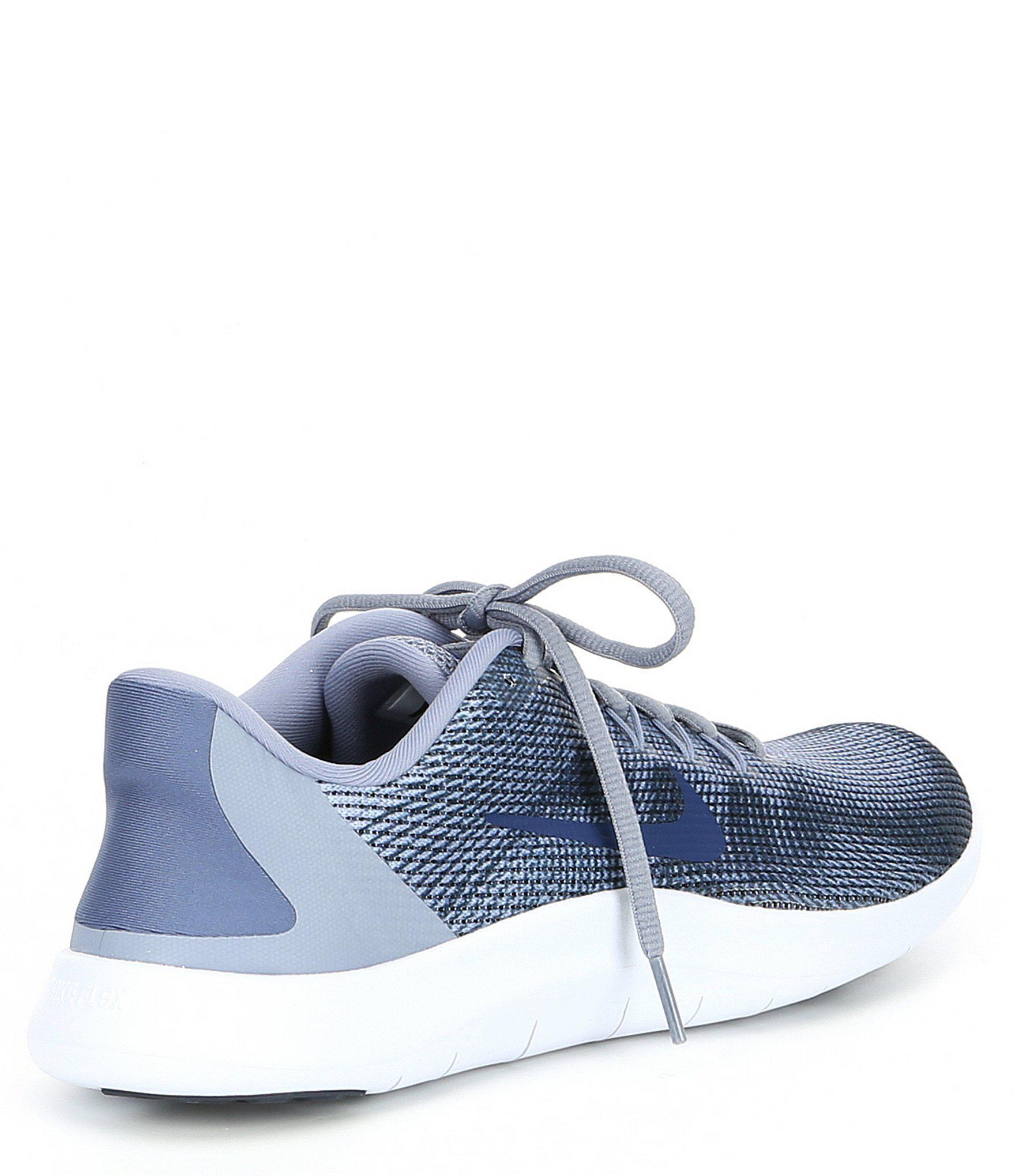 dfe860f8e8f Nike - Blue Men s Flex 2018 Rn Running Shoes for Men - Lyst. View fullscreen