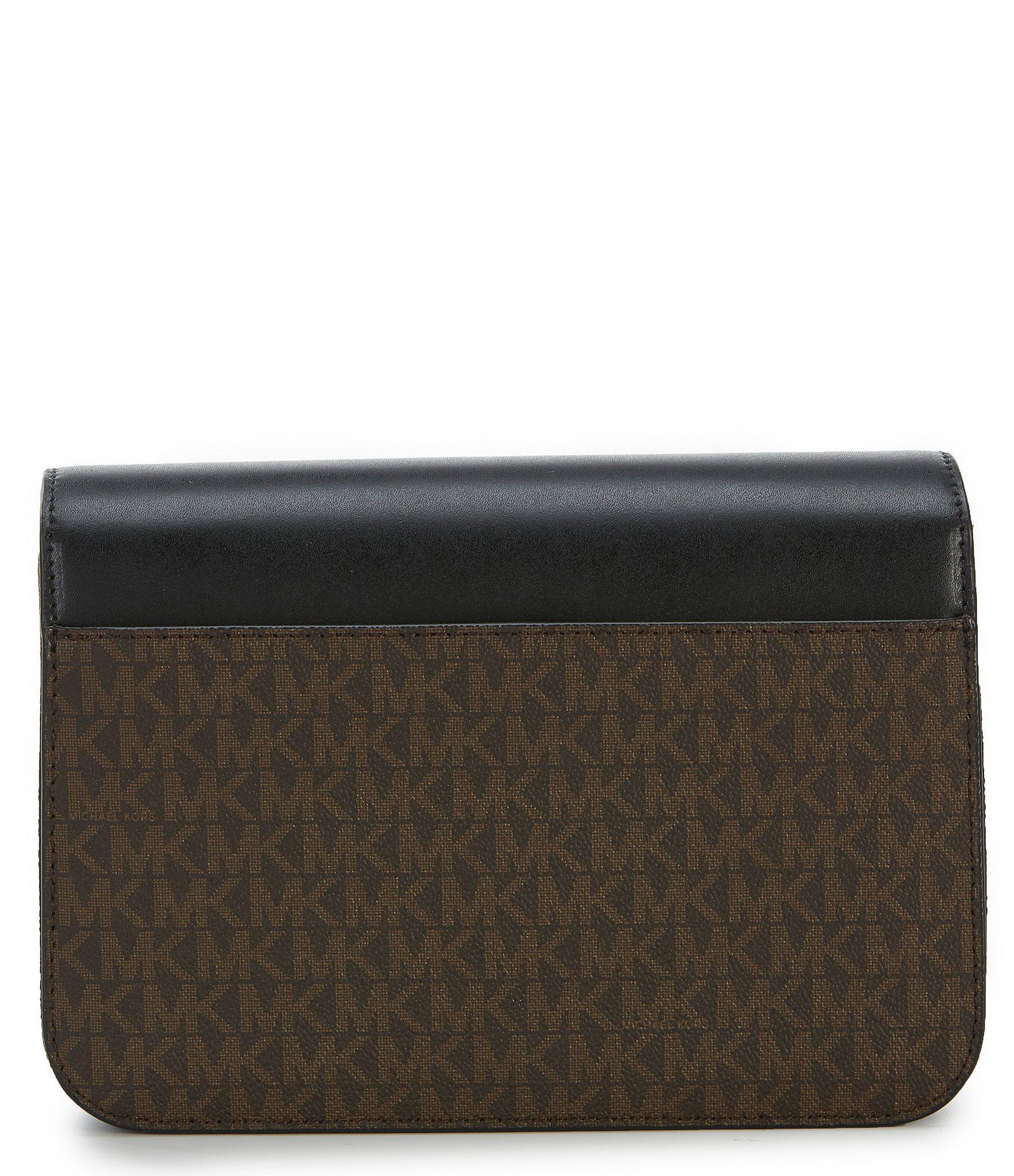 7b1ffb4946 MICHAEL Michael Kors - Black Sloan Editor Large Push Lock Shoulder Bag -  Lyst. View fullscreen